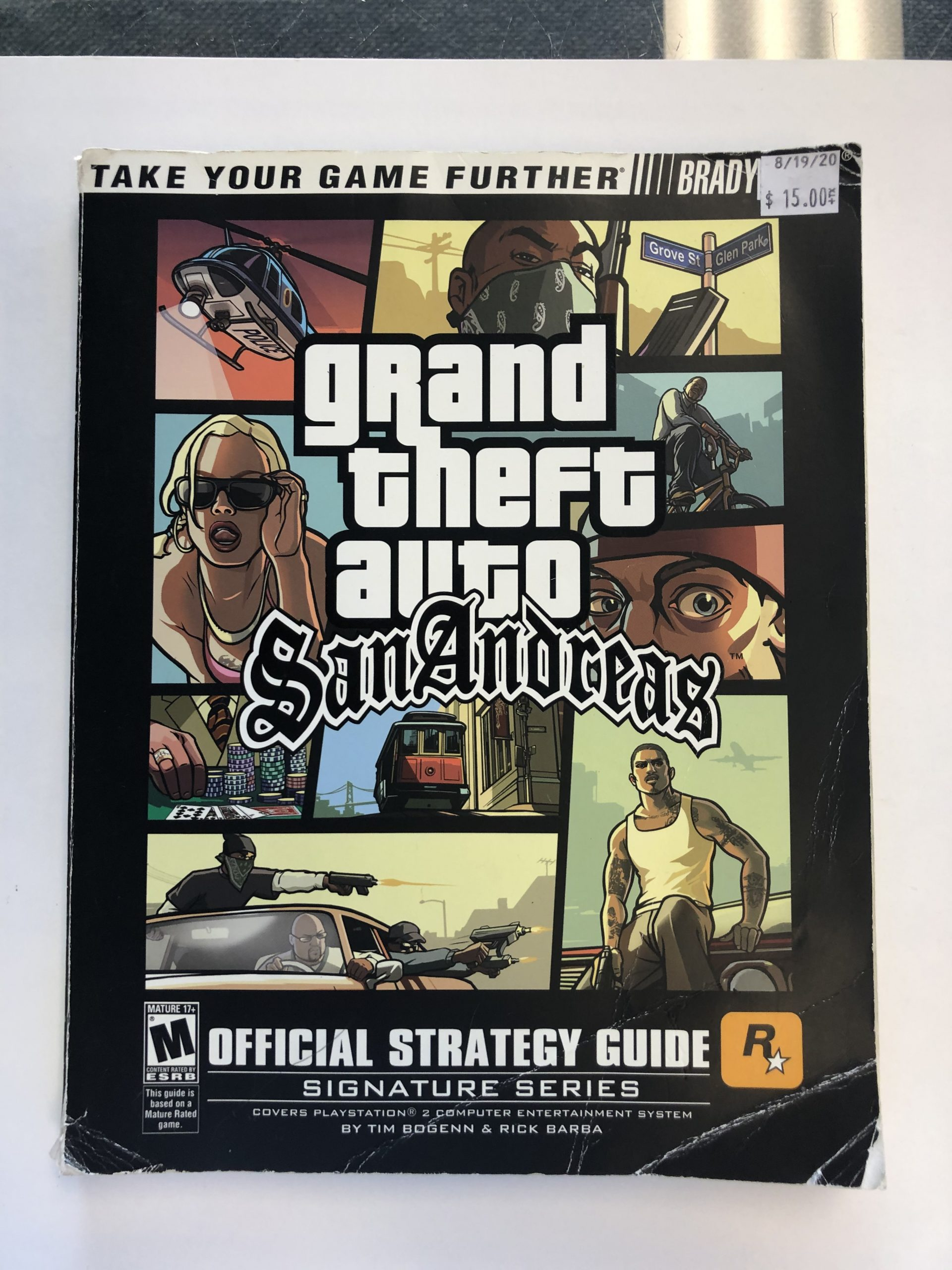 Grand Theft Auto San Andreas Guide Book
