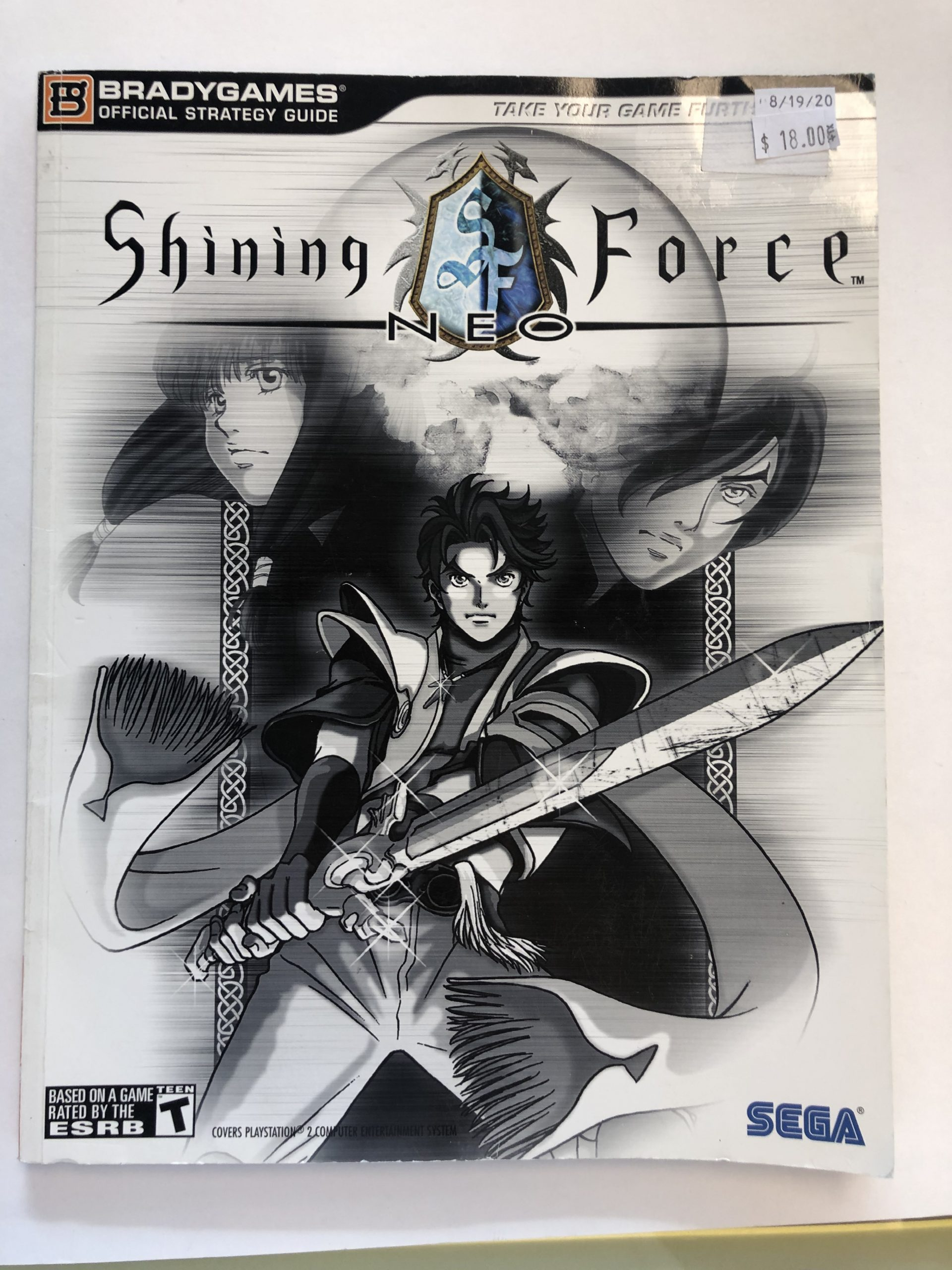 Shining Force Neo Guide Book