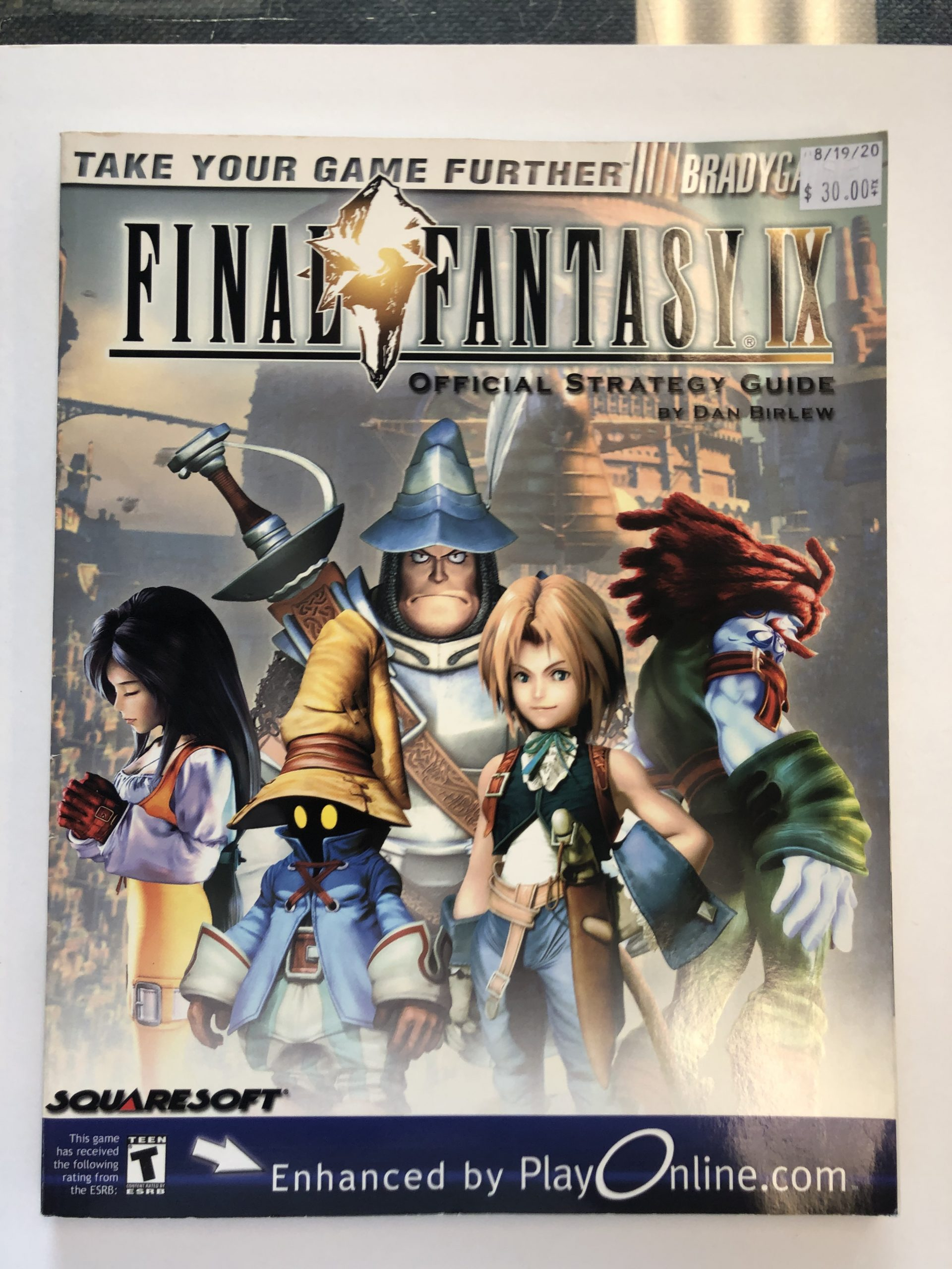Final Fantasy IX Guide Book