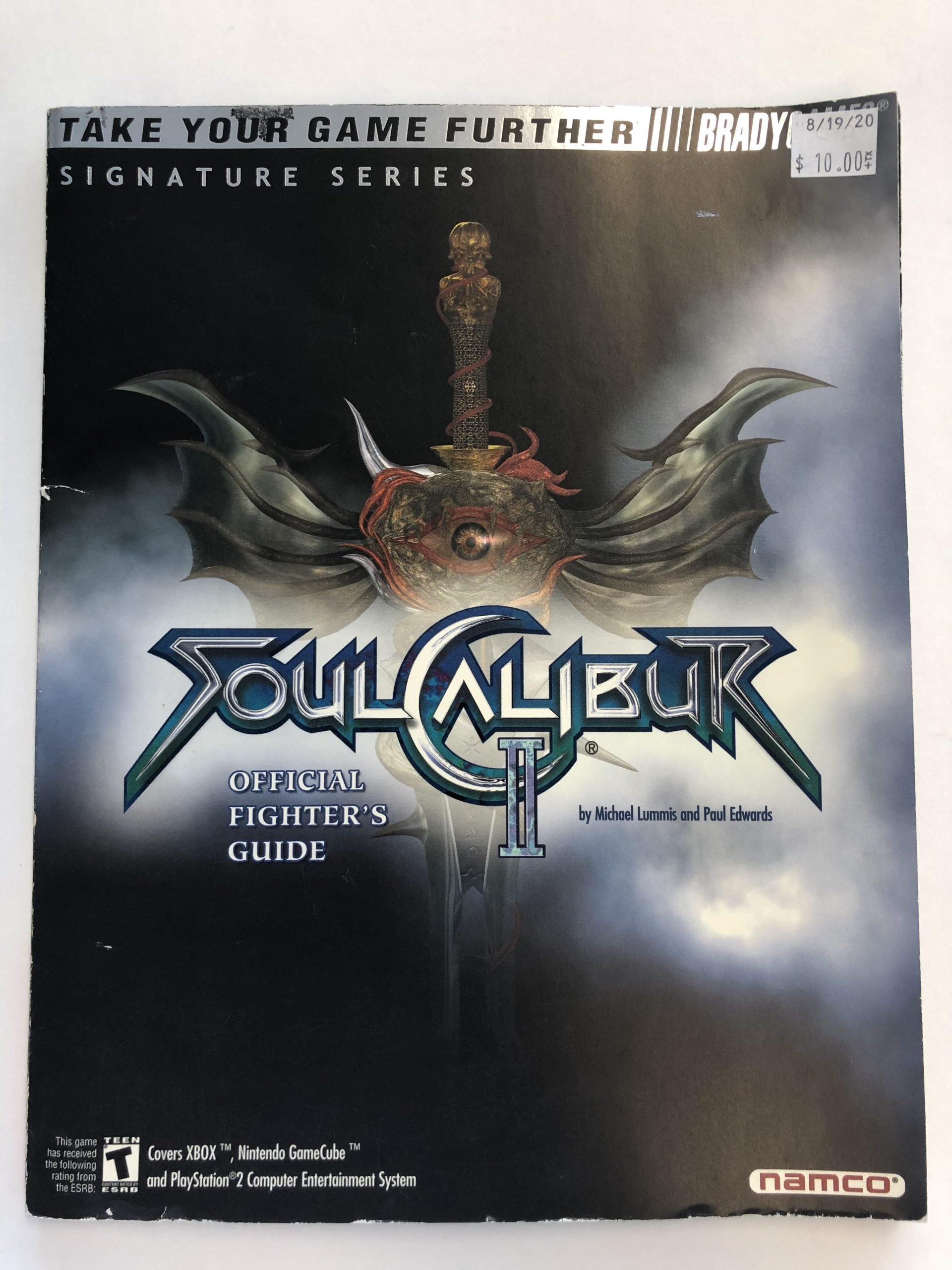 Soul Calibur II Guide Book