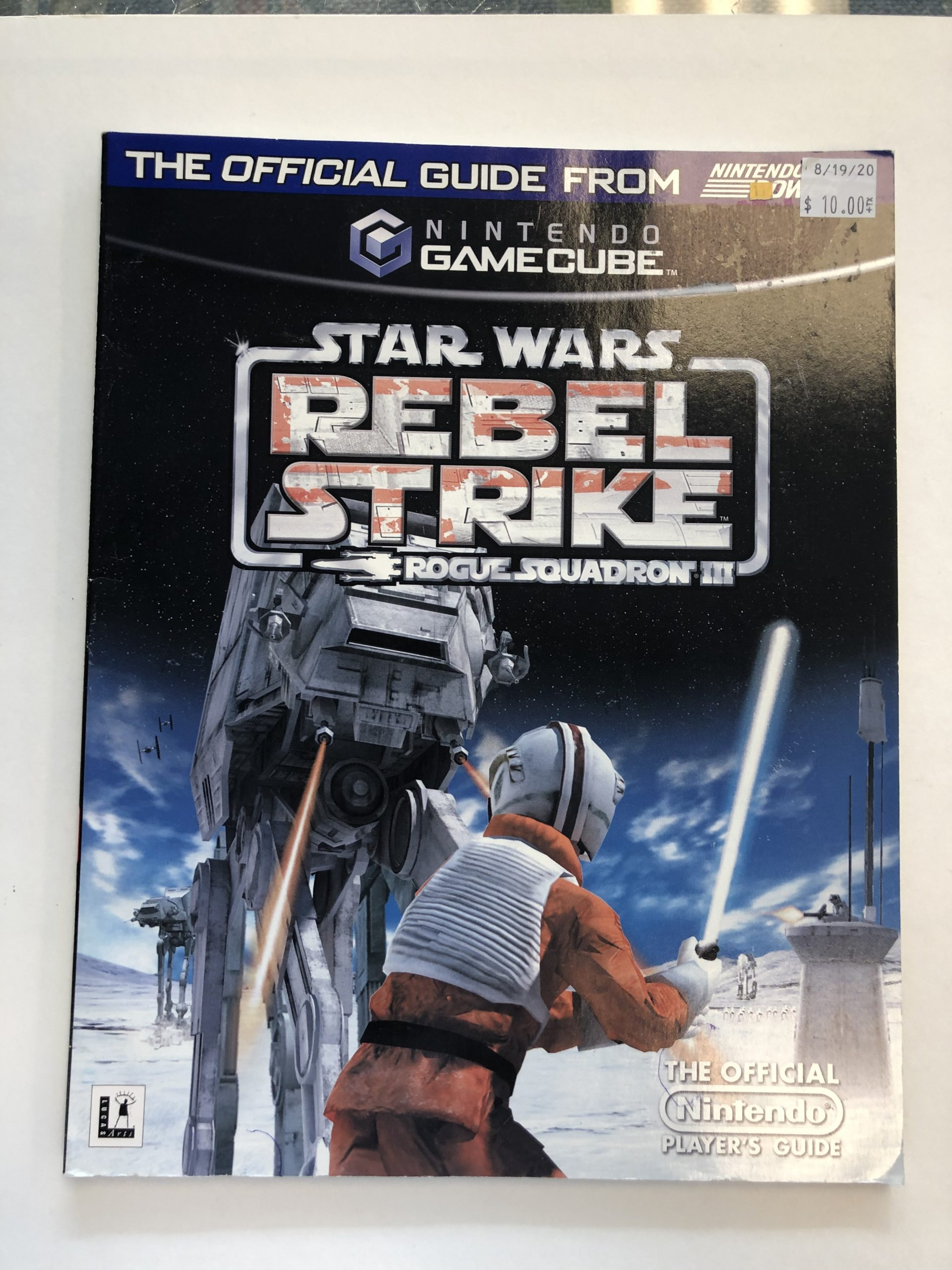 Star Wars Rebel Strike Rogue Squadron III Guide Book