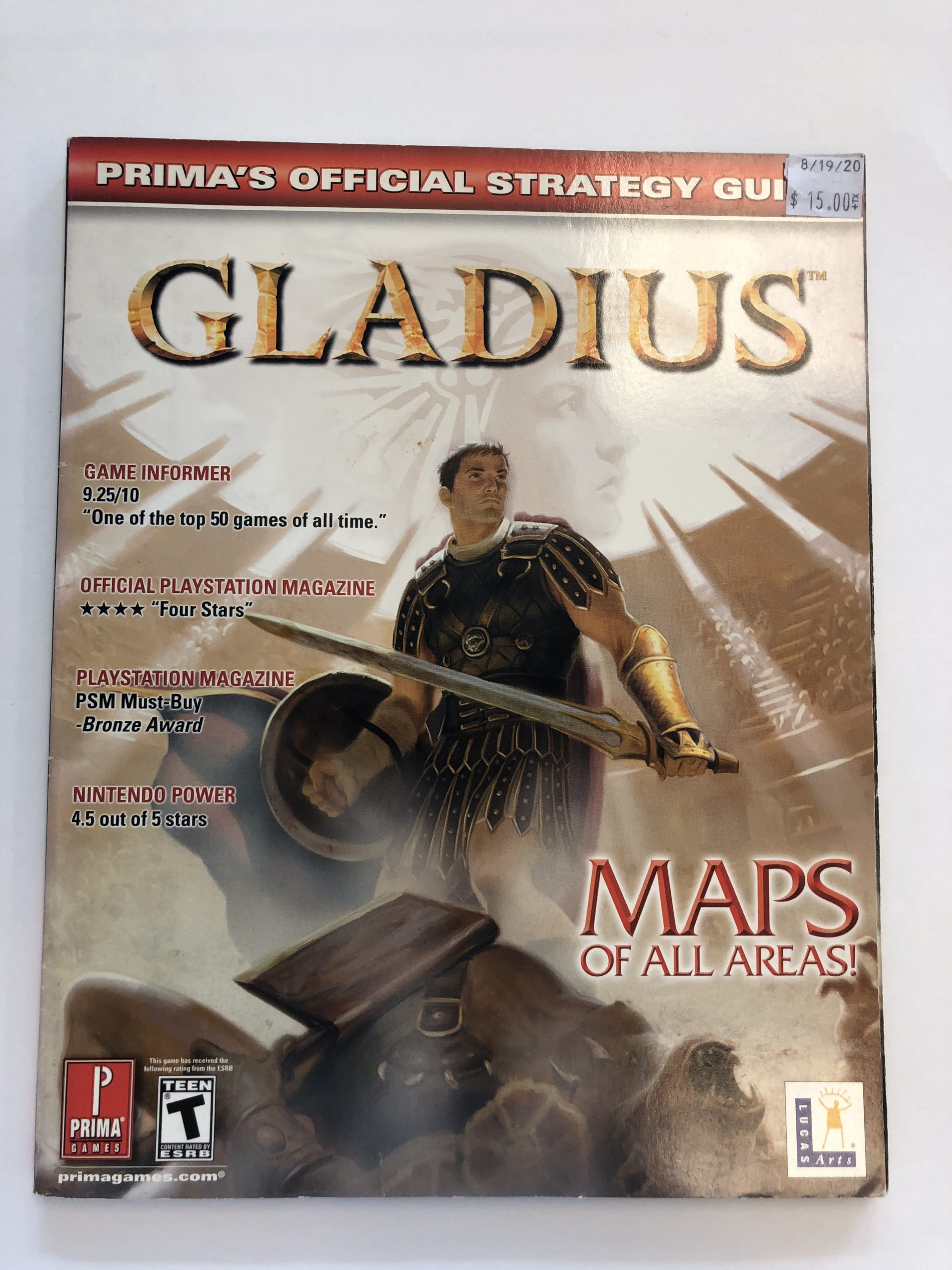 Gladius Guide Book