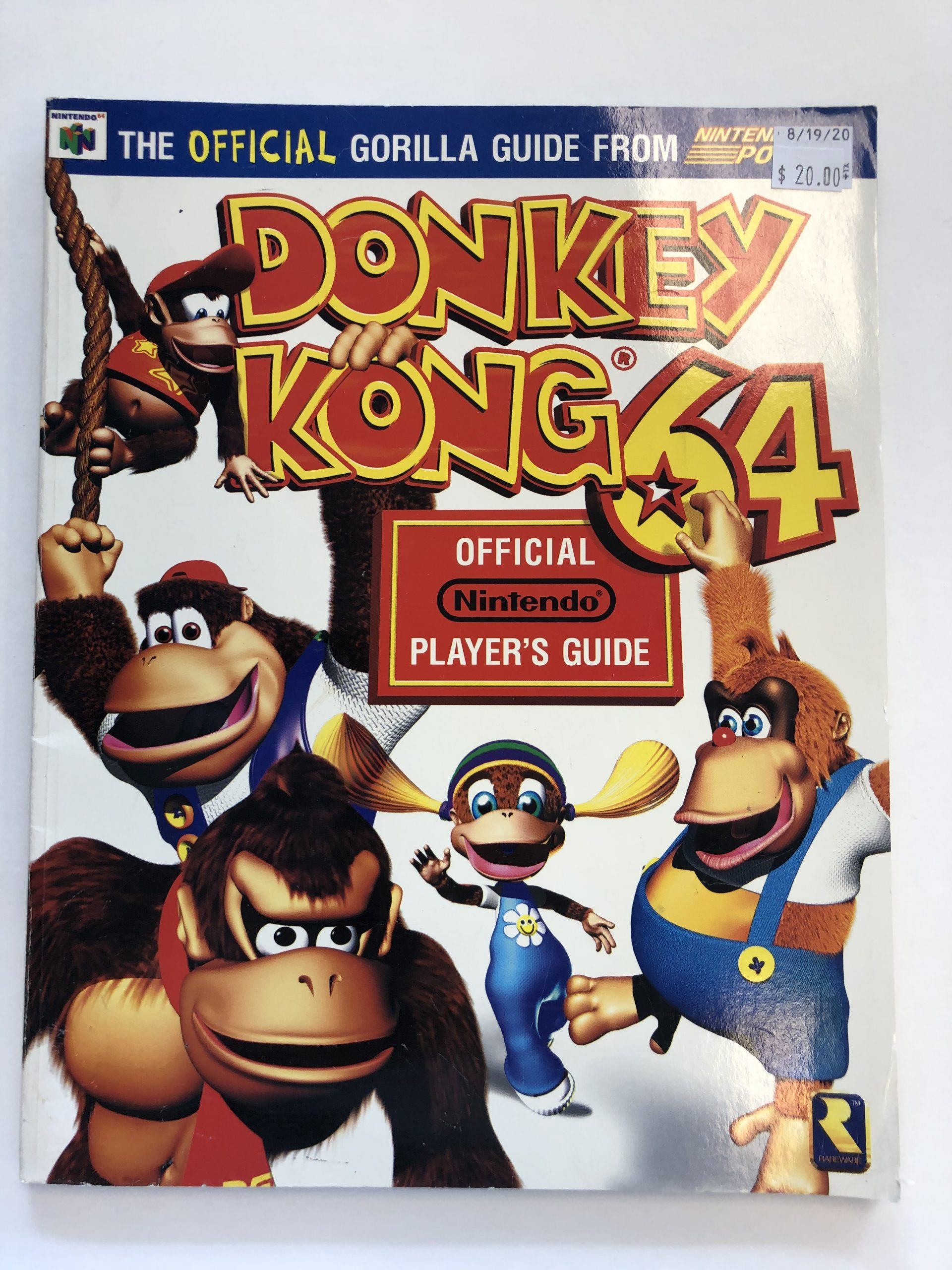 Donkey Kong 64 Guide Book