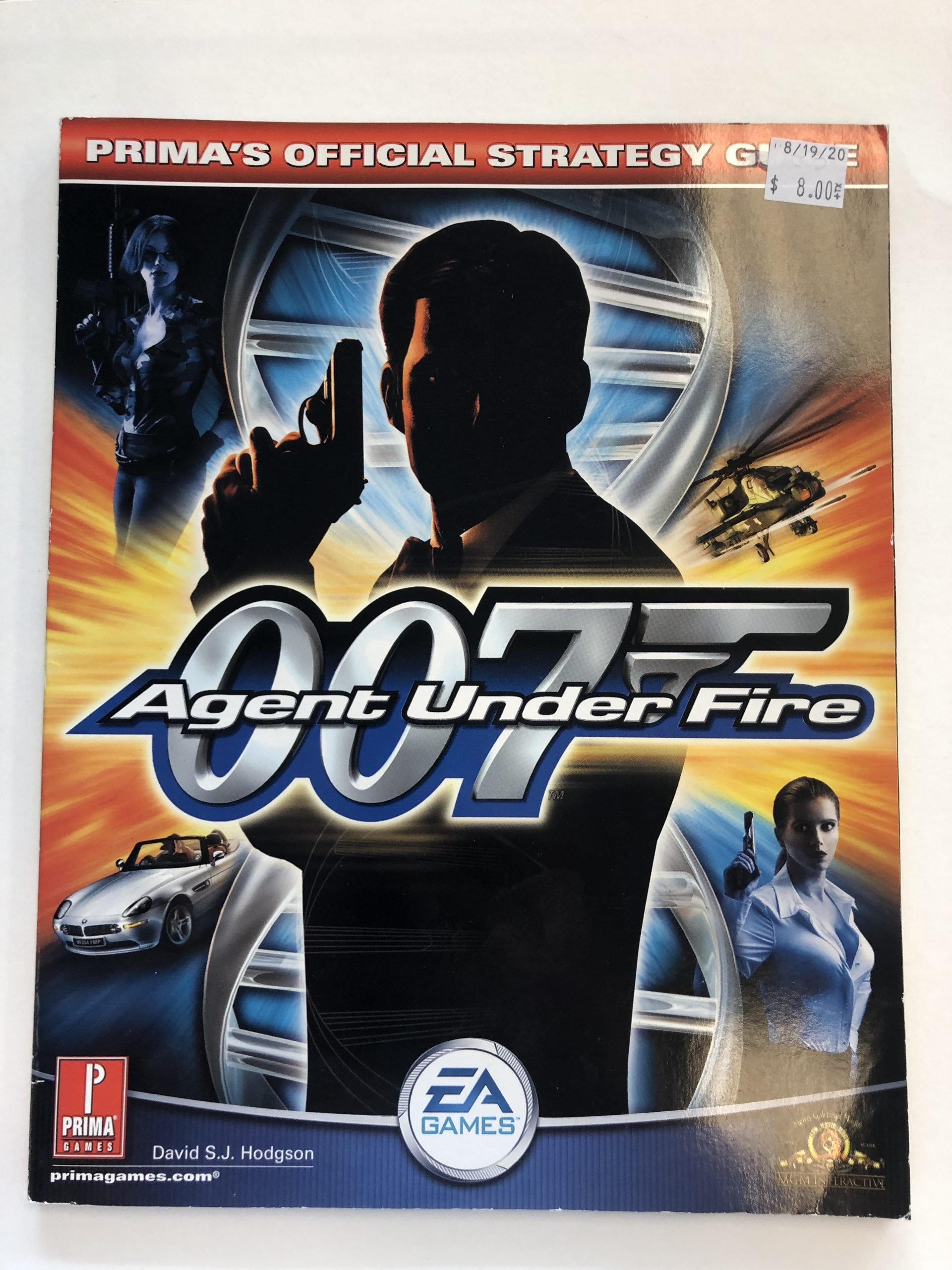 007 Agent Under Fire Guide Book