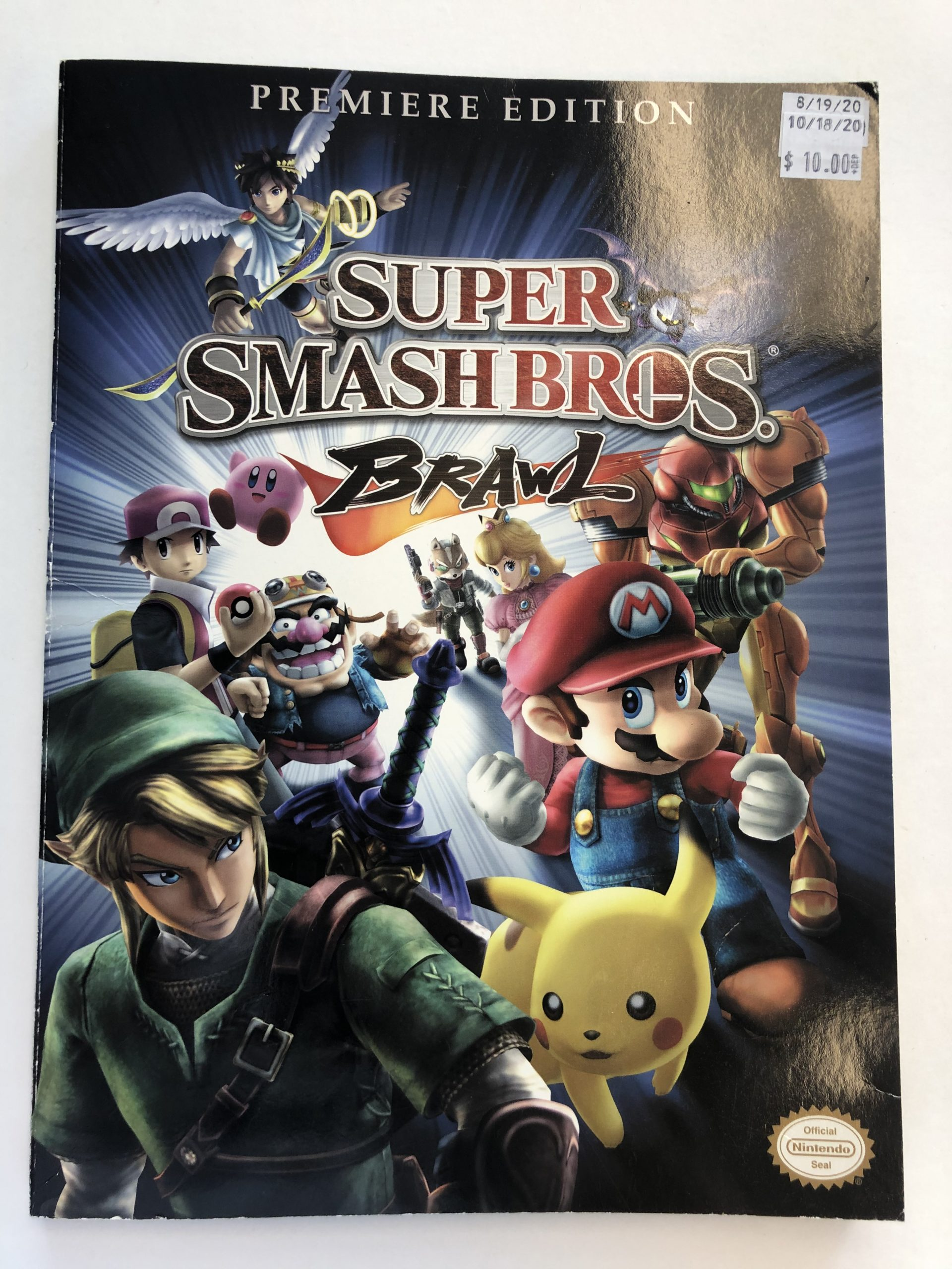 Super Smash Bros Brawl Guide Book