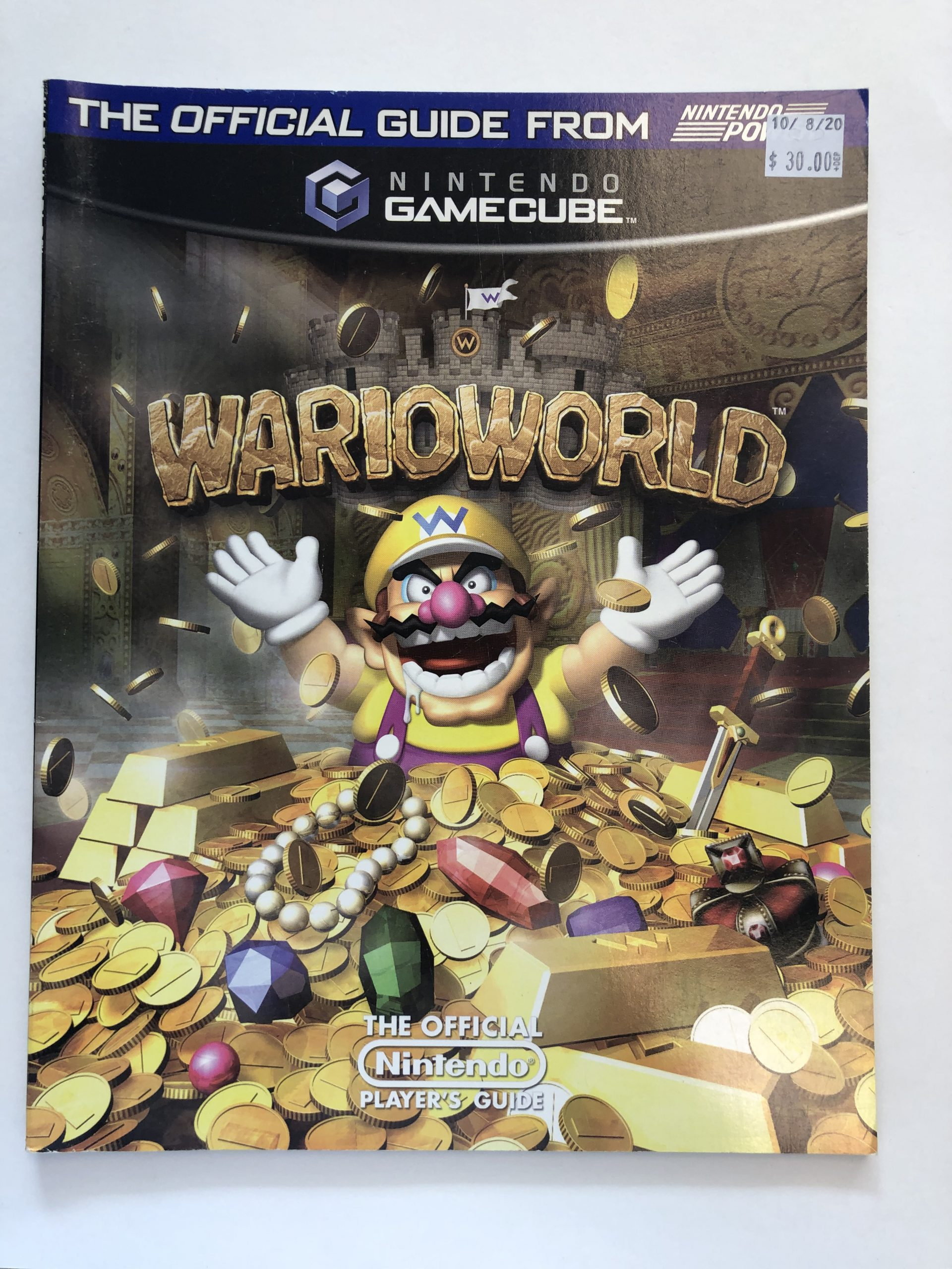 Wario World Guide Book