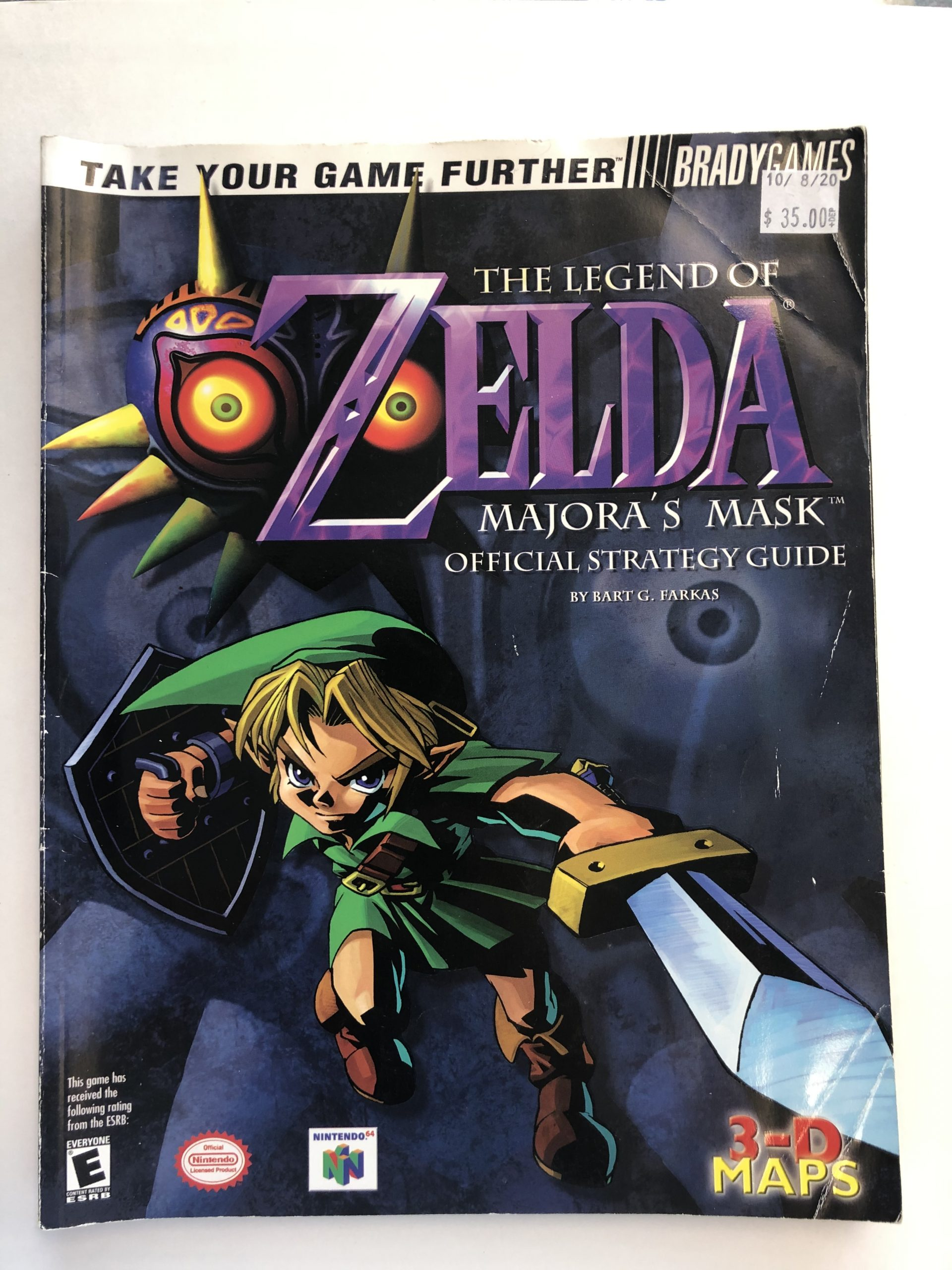 Legend Of Zelda Majora's Mask Guide Book