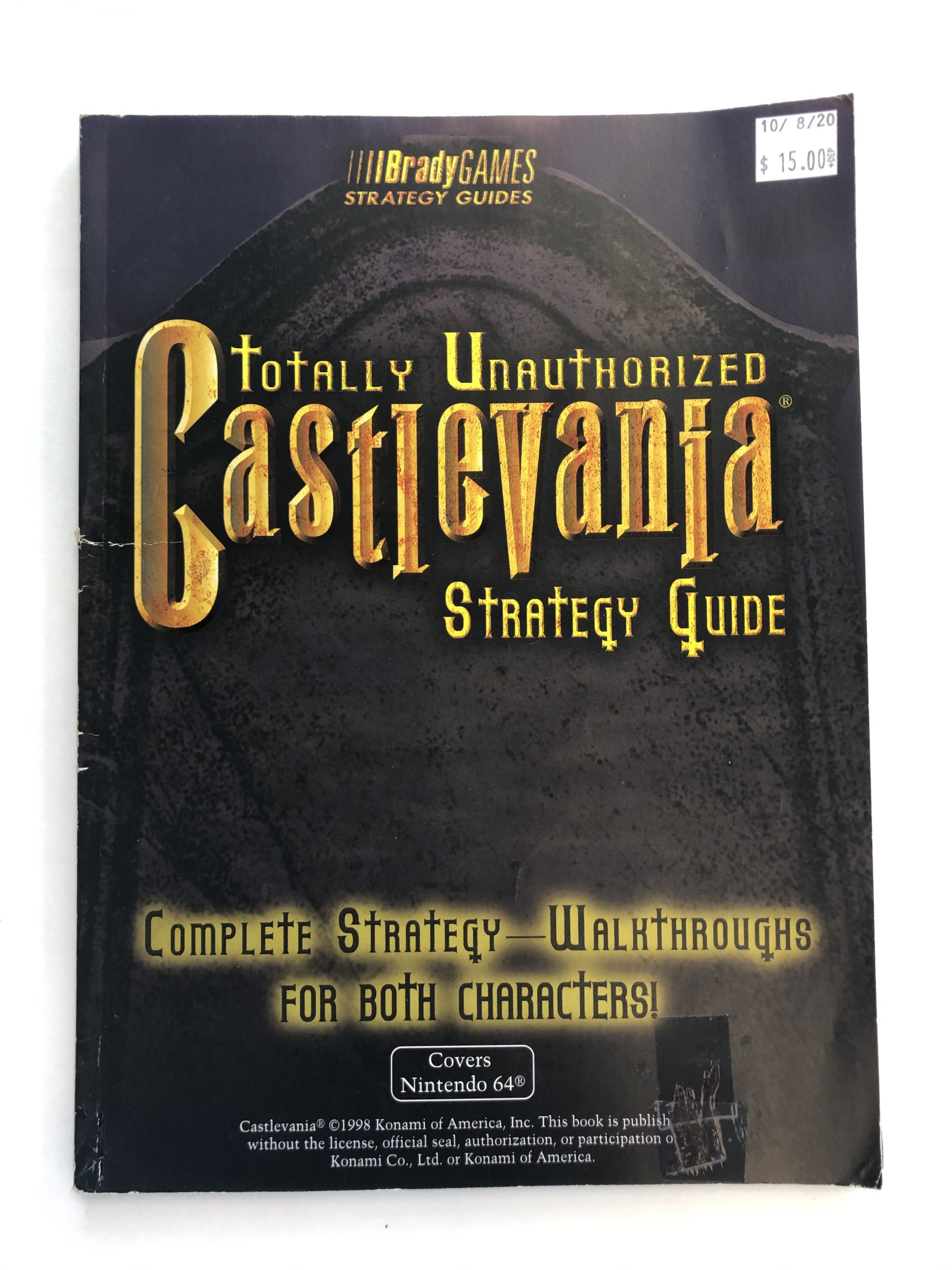 Totally Unauthorized Castlevania Guide Book