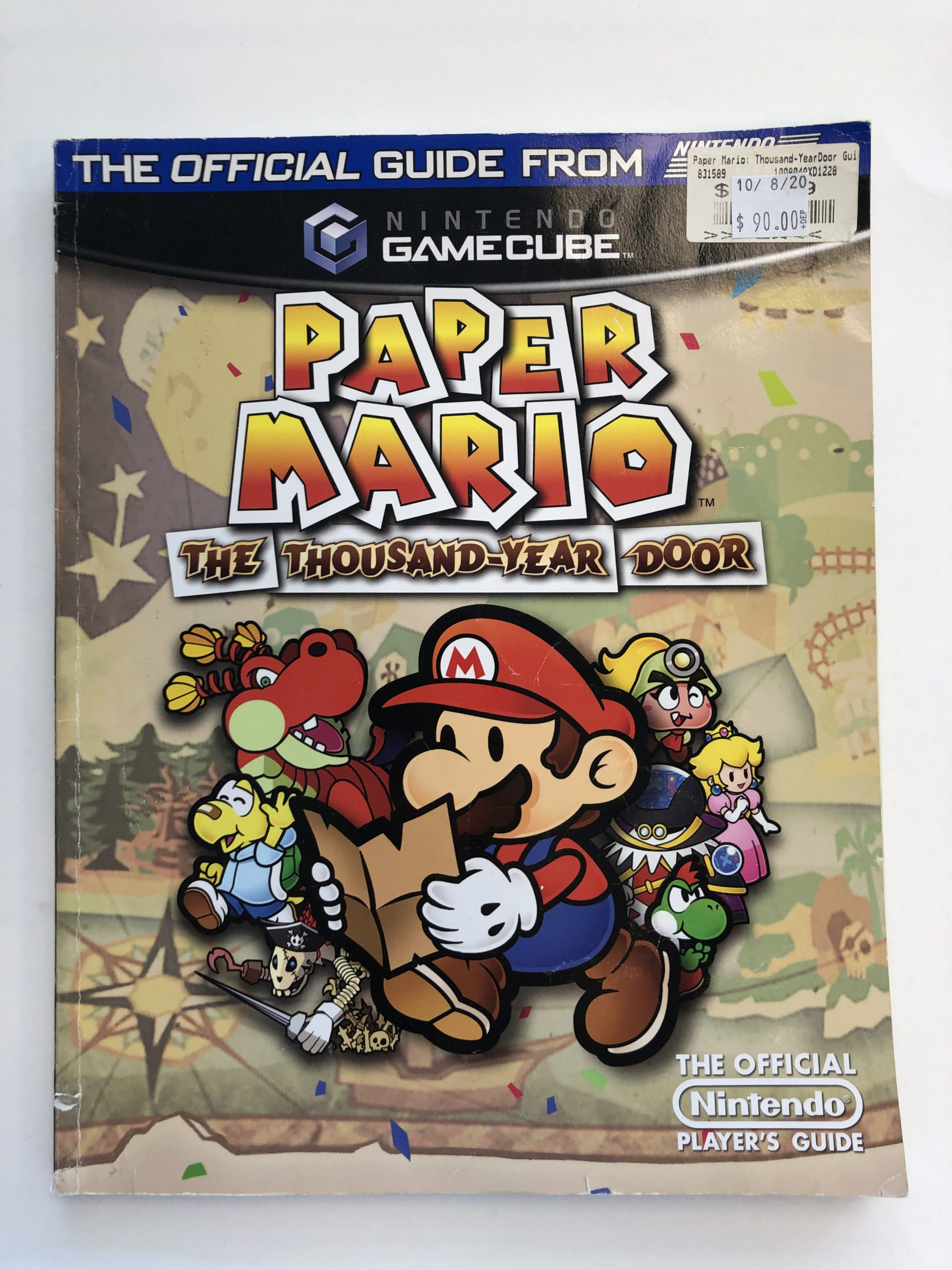 Paper Mario The Thousand-Year Door Guide Book