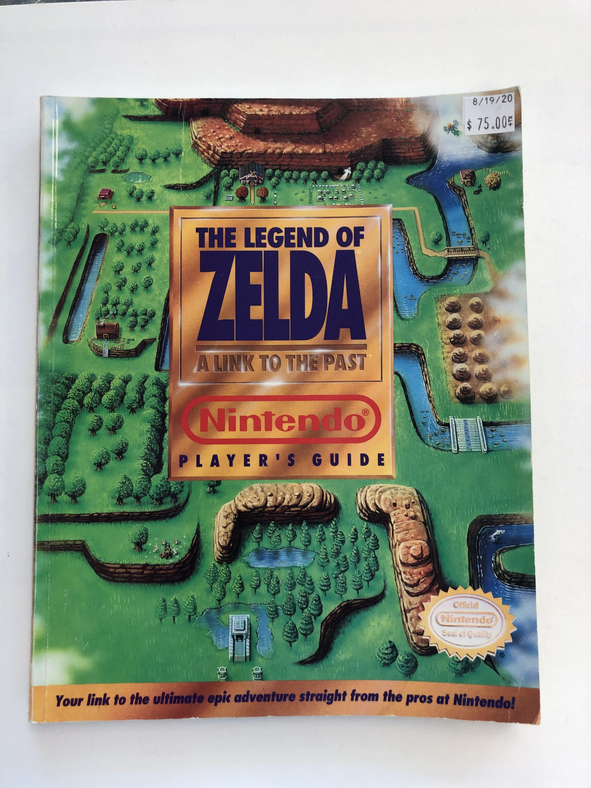 Legend Of Zelda Link To The Past Guide Book