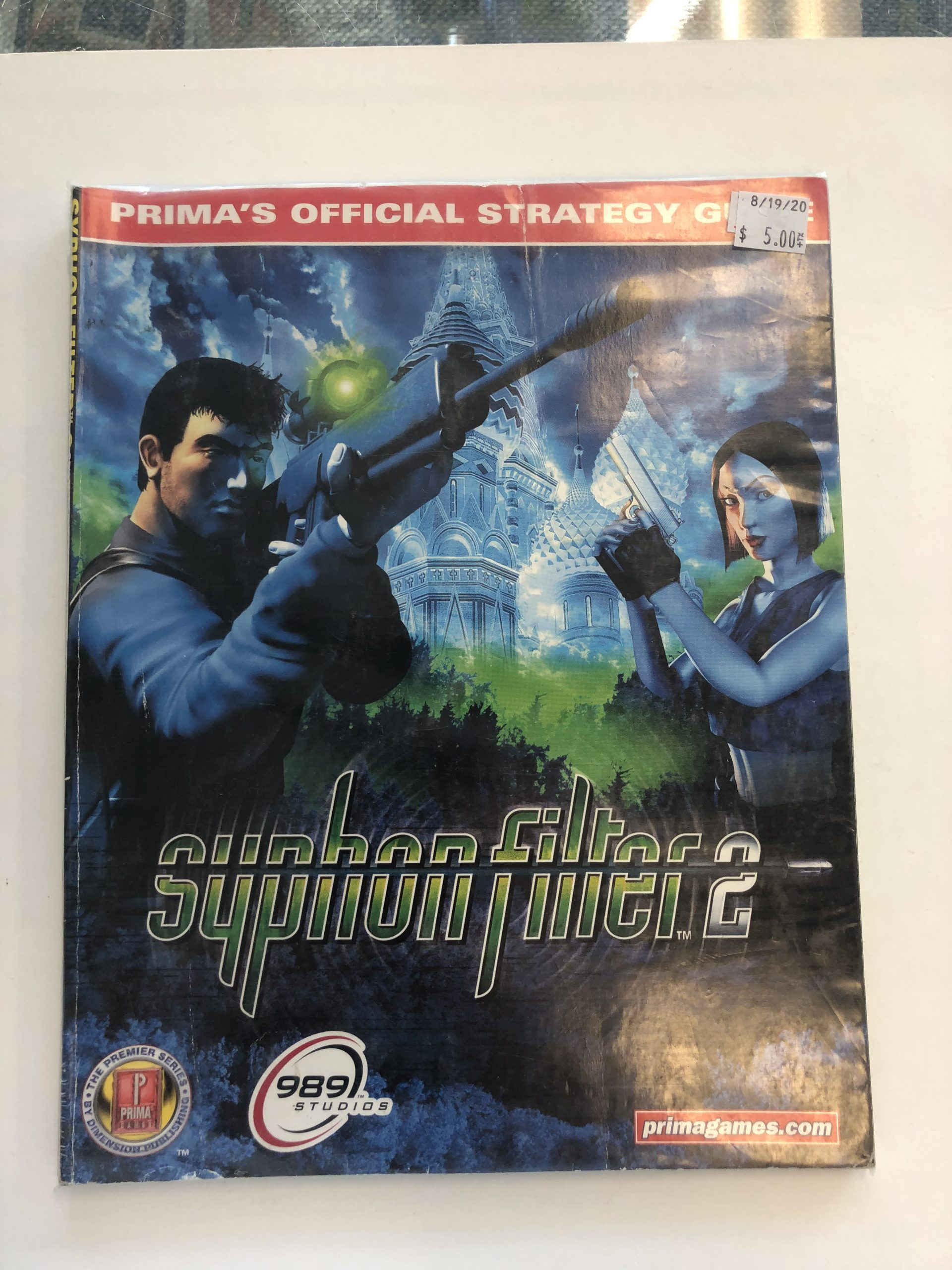 Syphon Filter 2 Guide Book