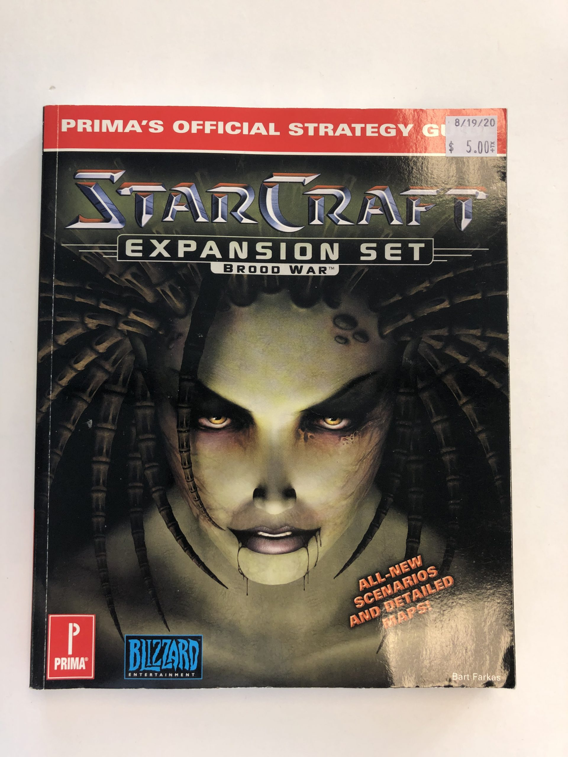 Star Craft Expansion Set Guide Book