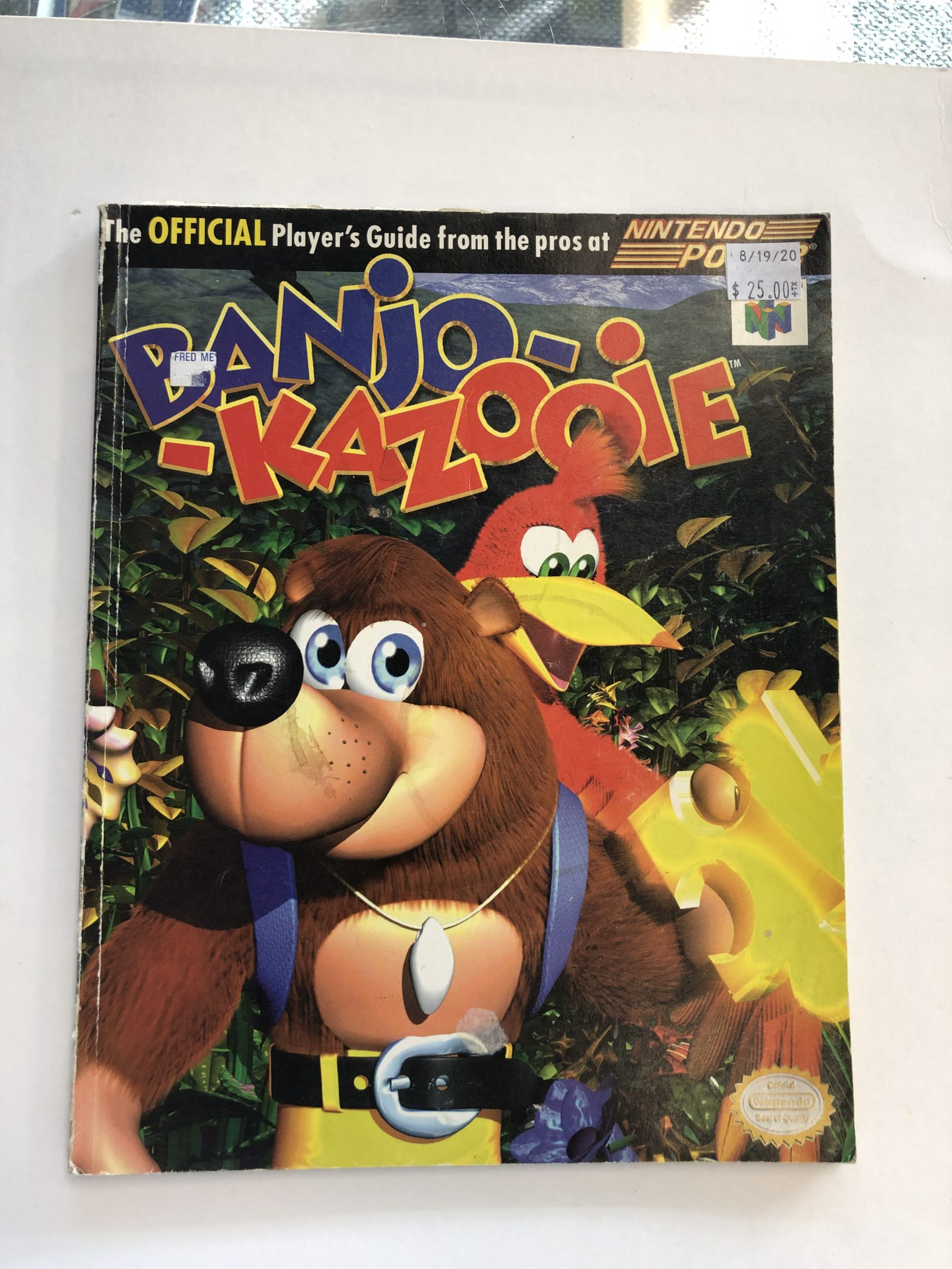 Banjo Kazooie Guide Book