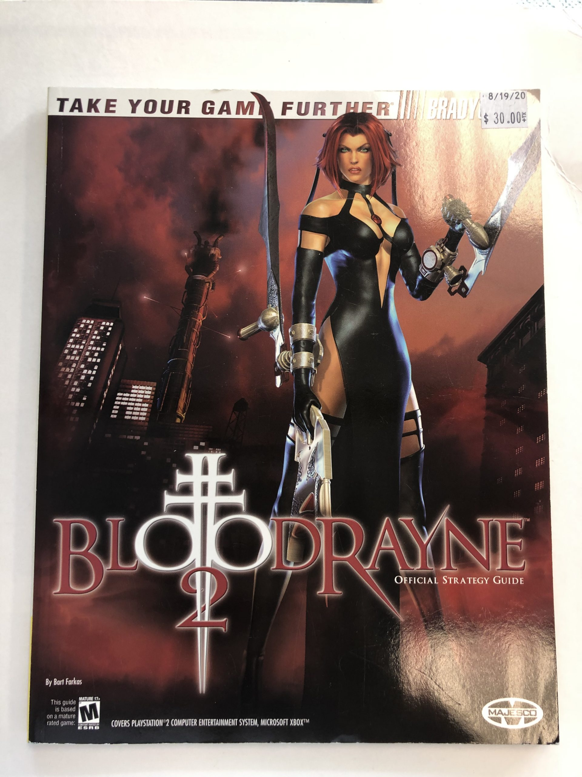 Blood Rayne 2 Guide Book