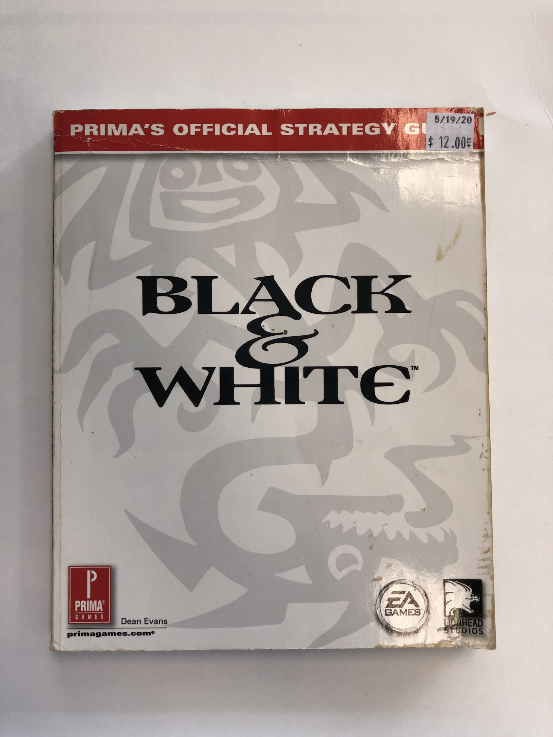 Black And White Guide Book