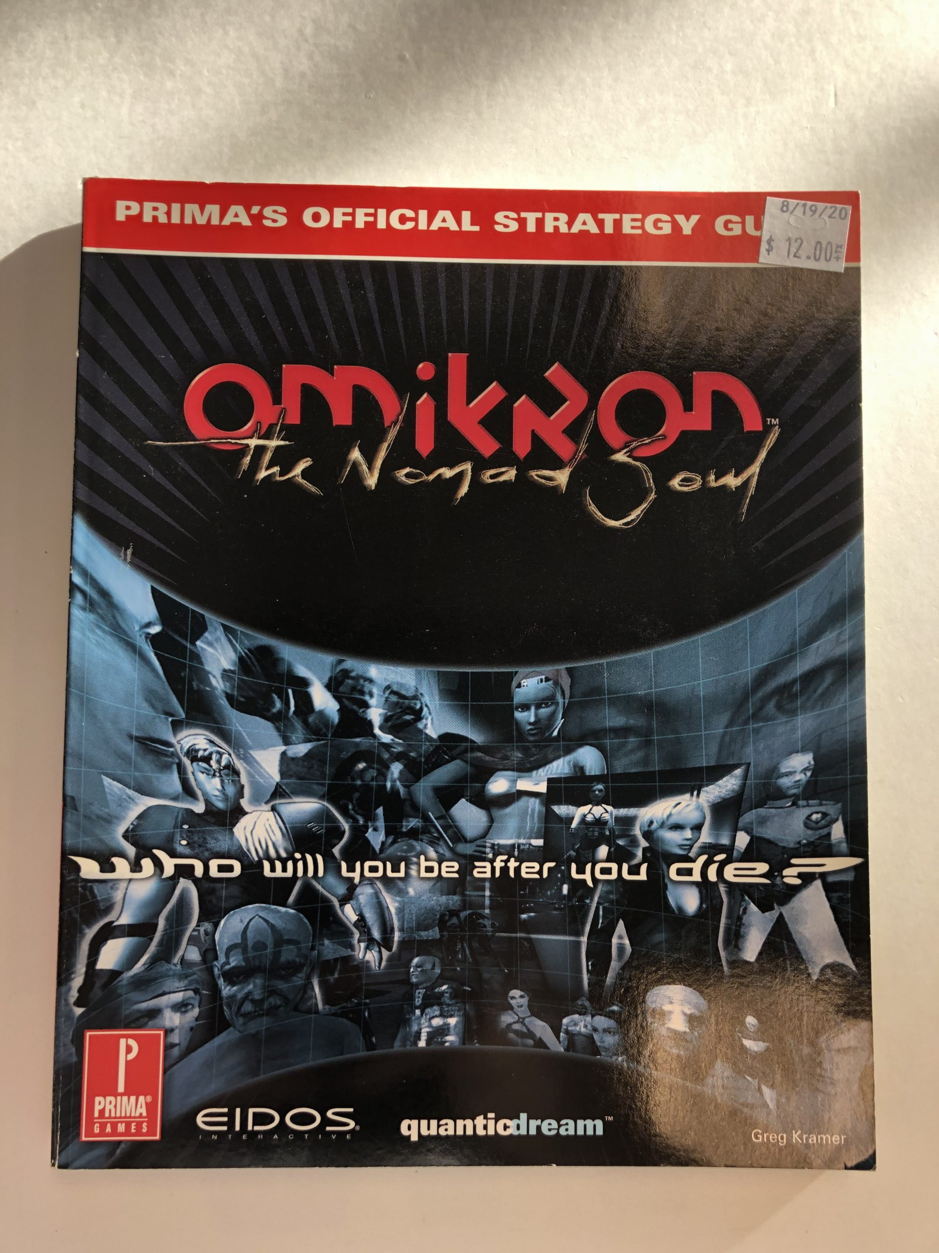 Omikron The Nomad Soul Guide Book