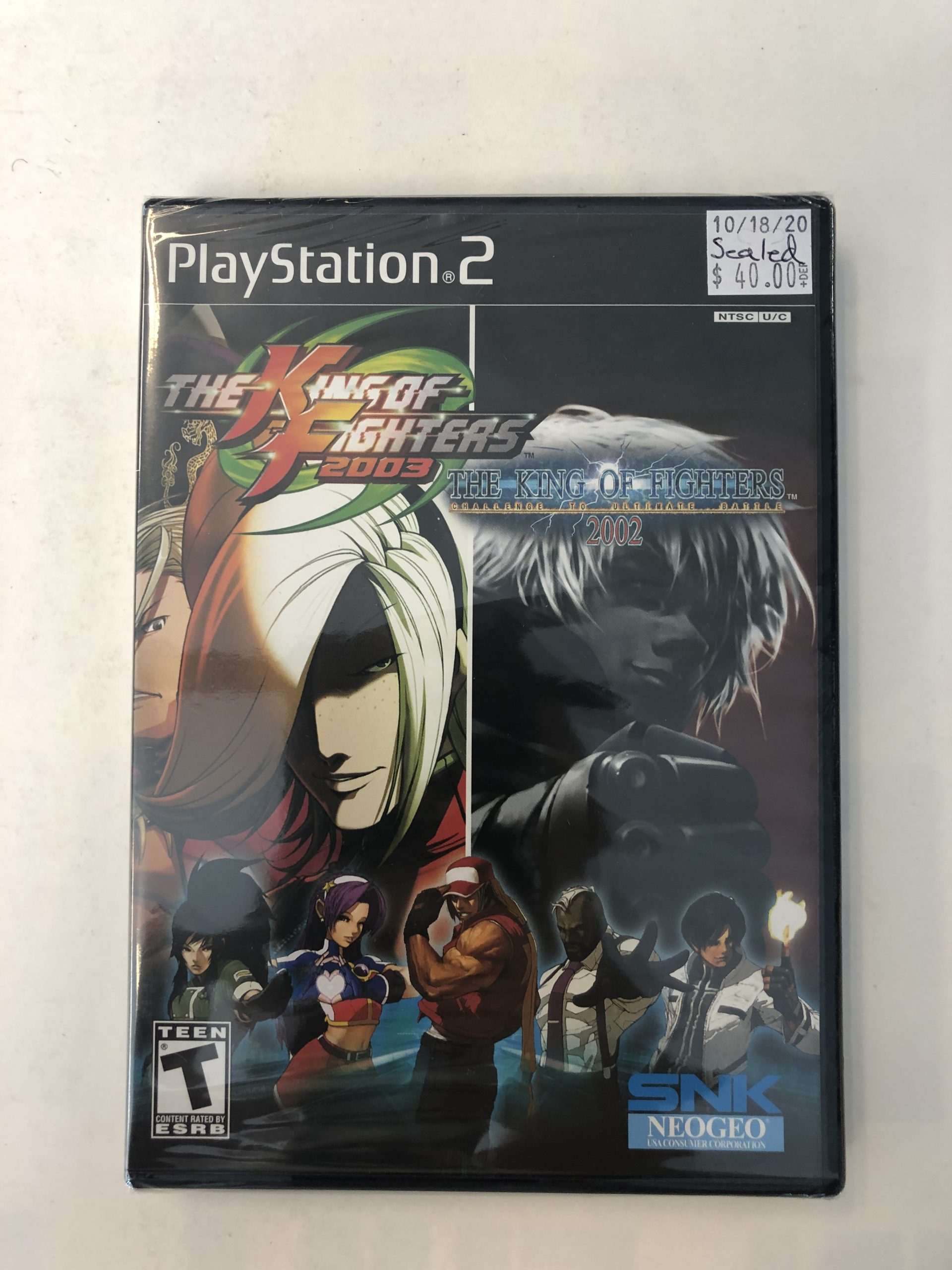 SEALED King Of Fighters 2002 And 2003 PS2