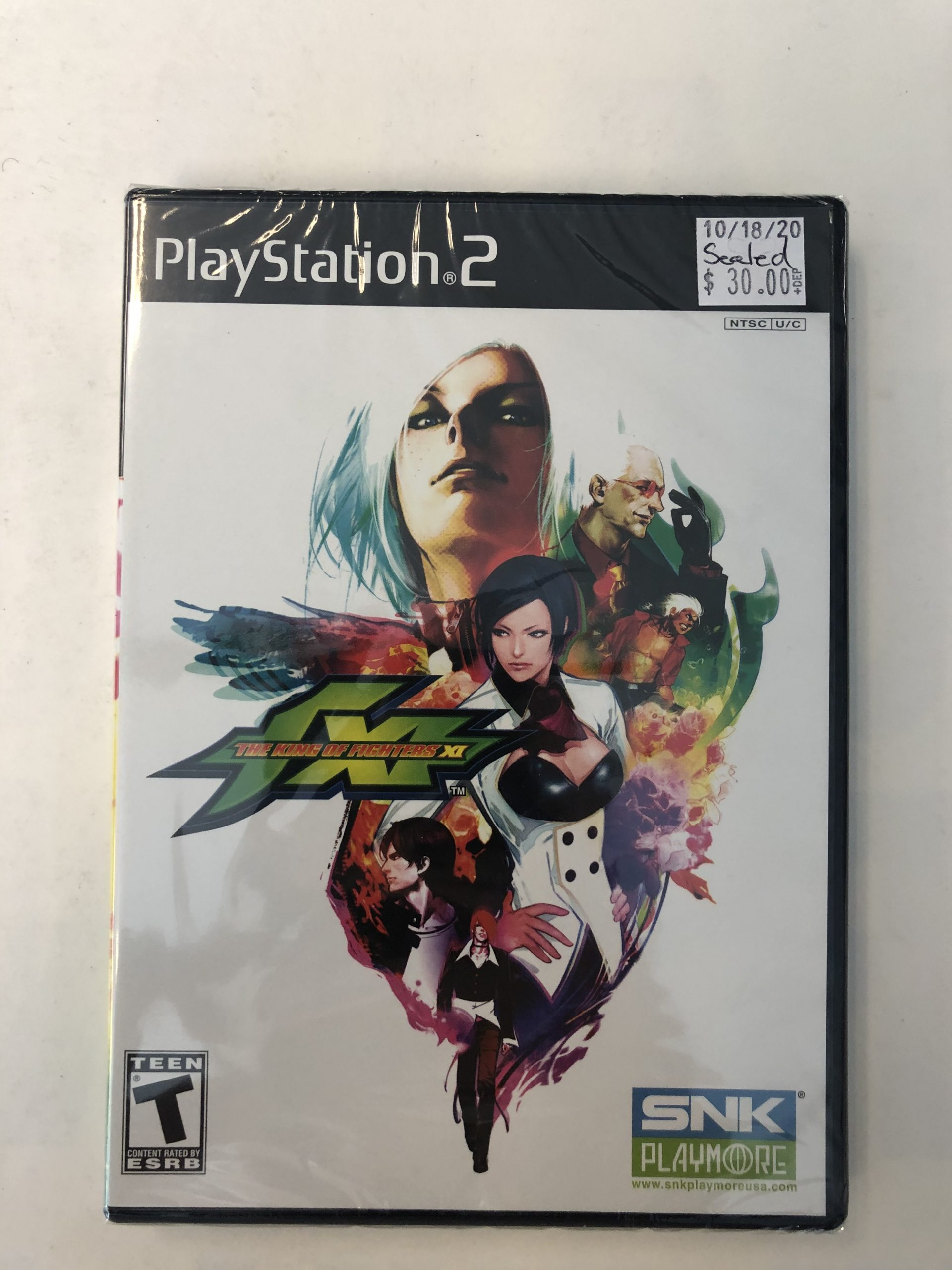 SEALED King Of Fighters XI PS2