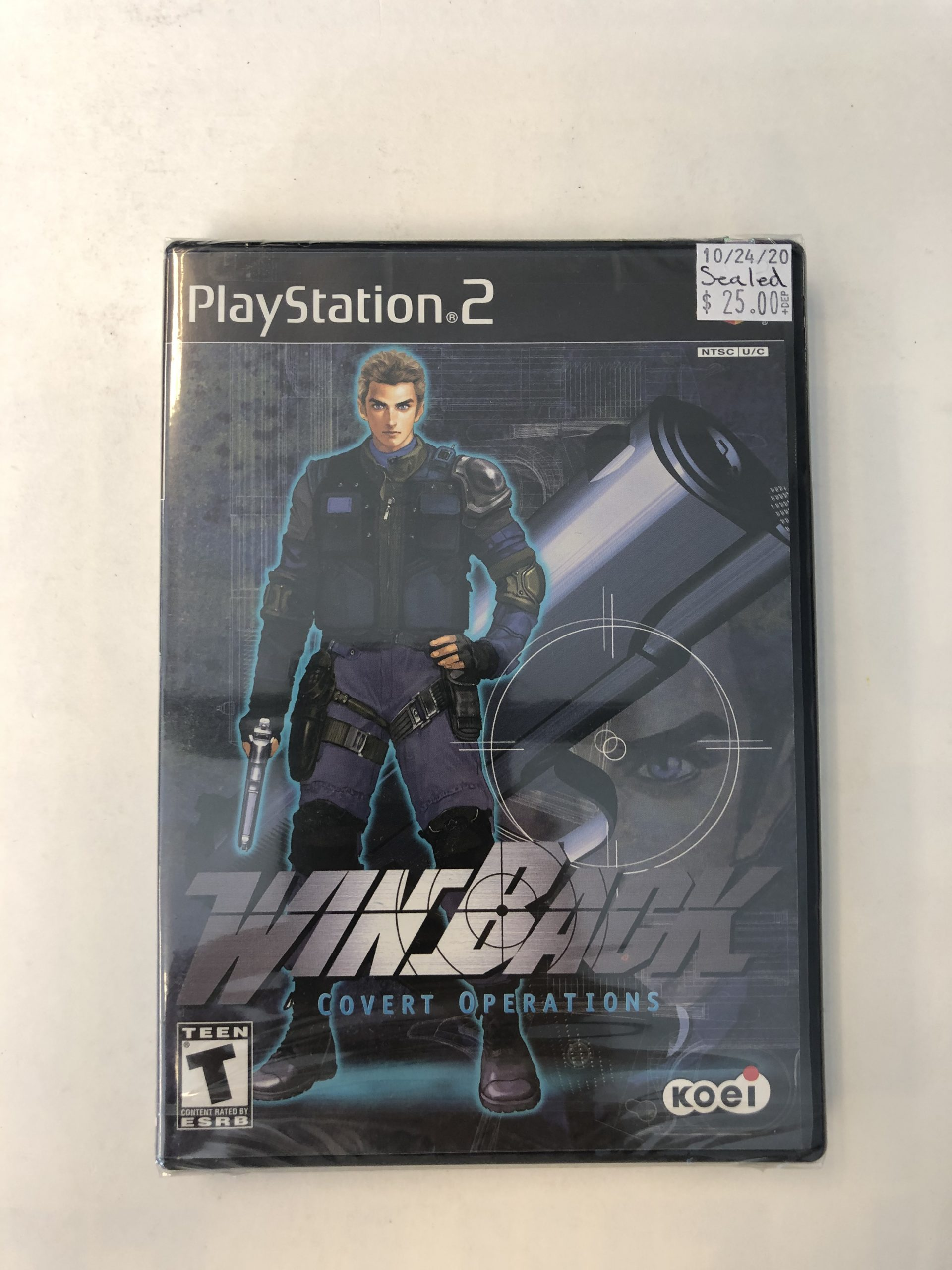SEALED Win Back Covert Operations PS2