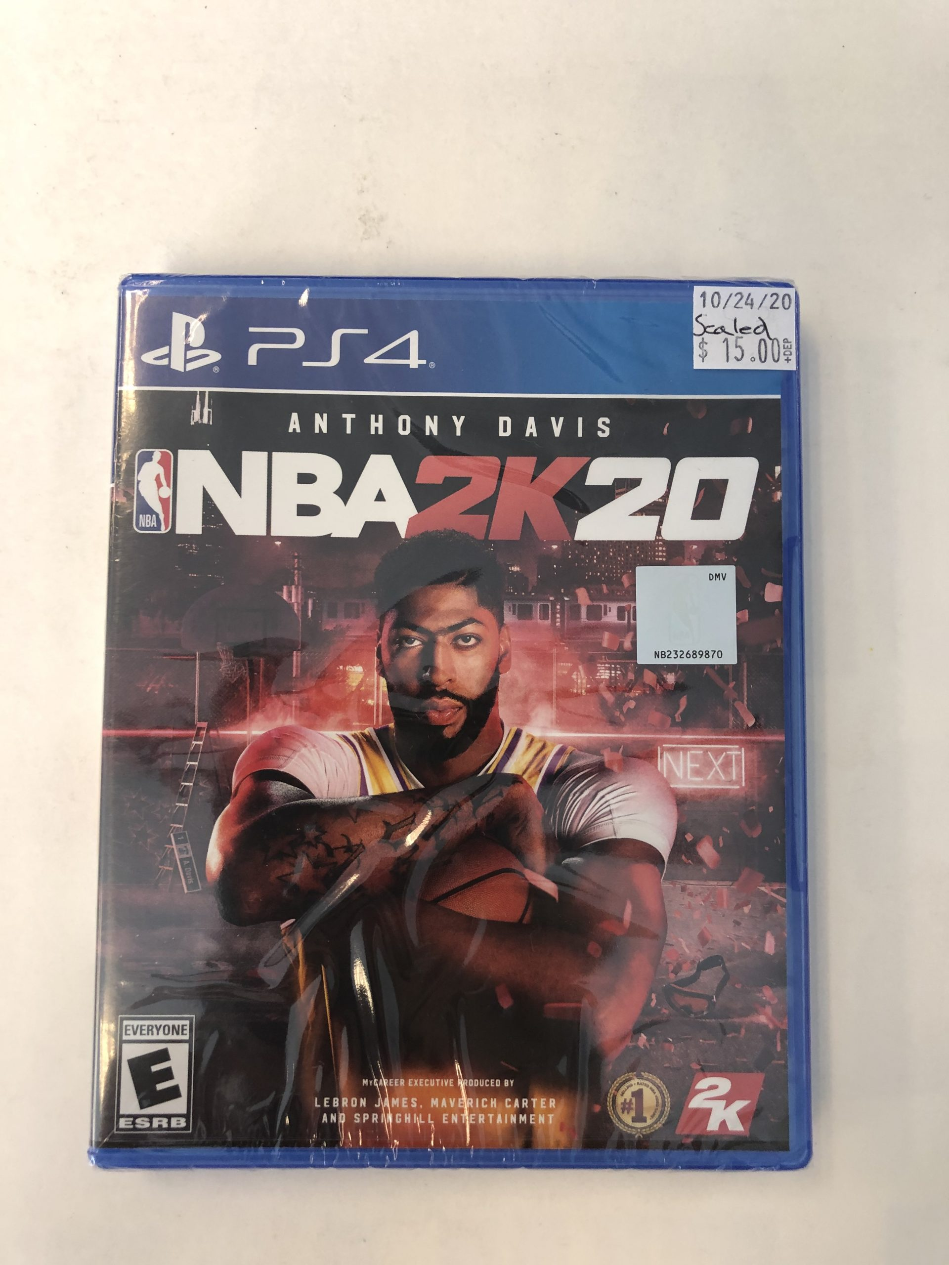 SEALED NBA 2k20 PS4