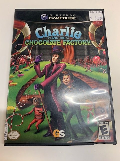 Charlie And The Chocolate Factory CB Gamecube