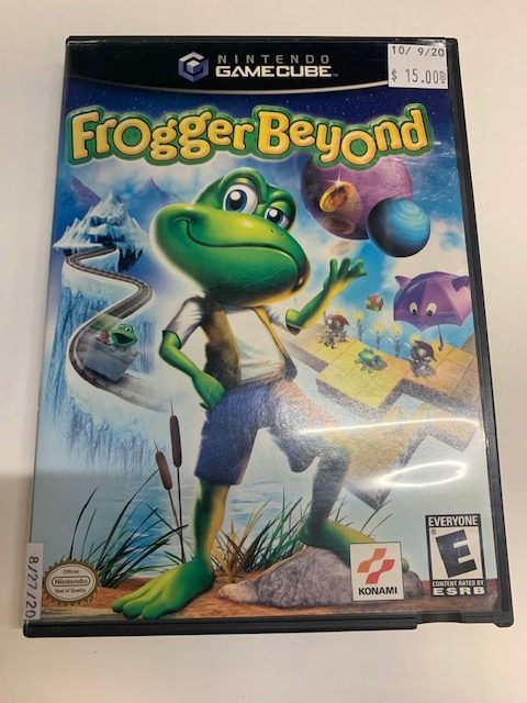 Frogger Beyond Gamecube