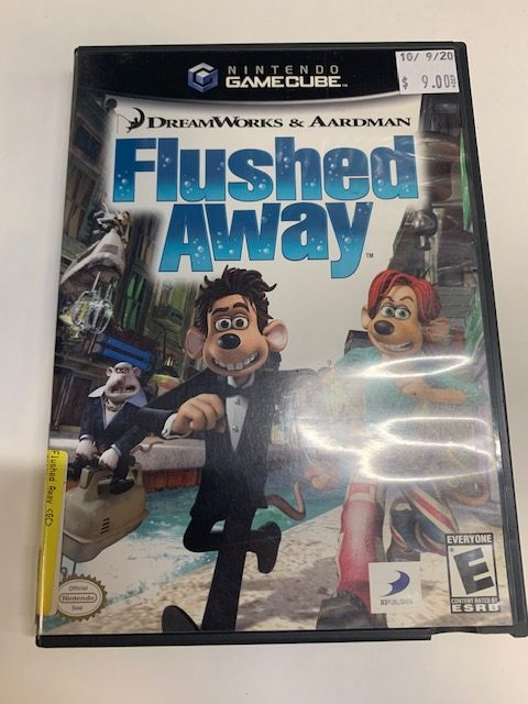 Flushed Away Gamecube