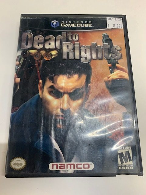 Dead To Rights CIB Gamecube