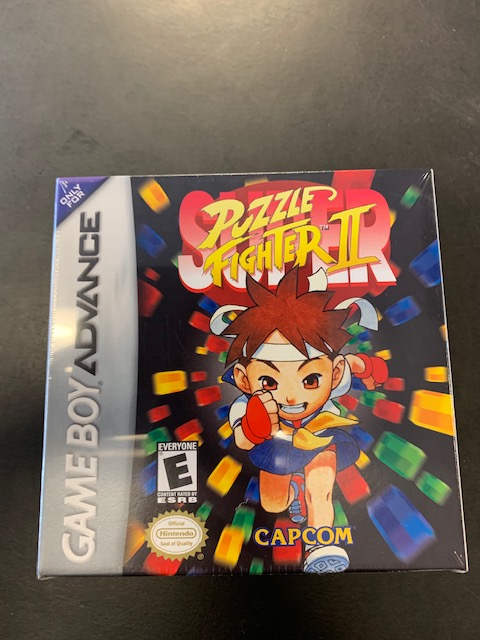 Super Street Puzzle Fighter 2 GBA Factory Sealed