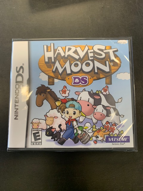 Harvest Moon DS Factory Sealed