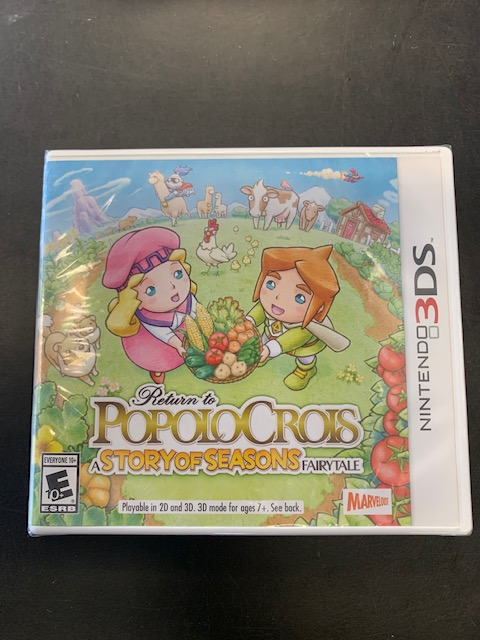 Return To Popolocrois Story Of Seasons Fairy Tale Factory Sealed