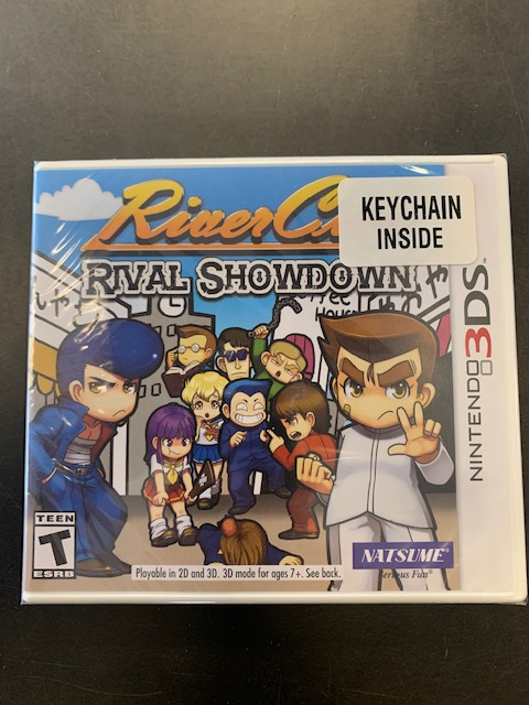 River City Rival Showdown Keychain Included Factory Sealed