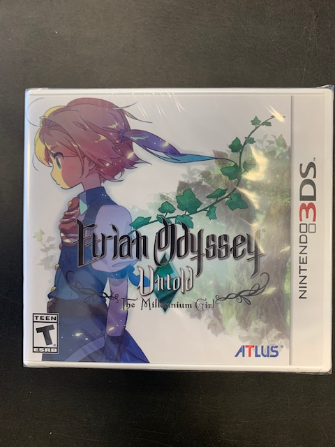 Etrian Odyssey Untold The Millennium Girl 3DS Factory Sealed