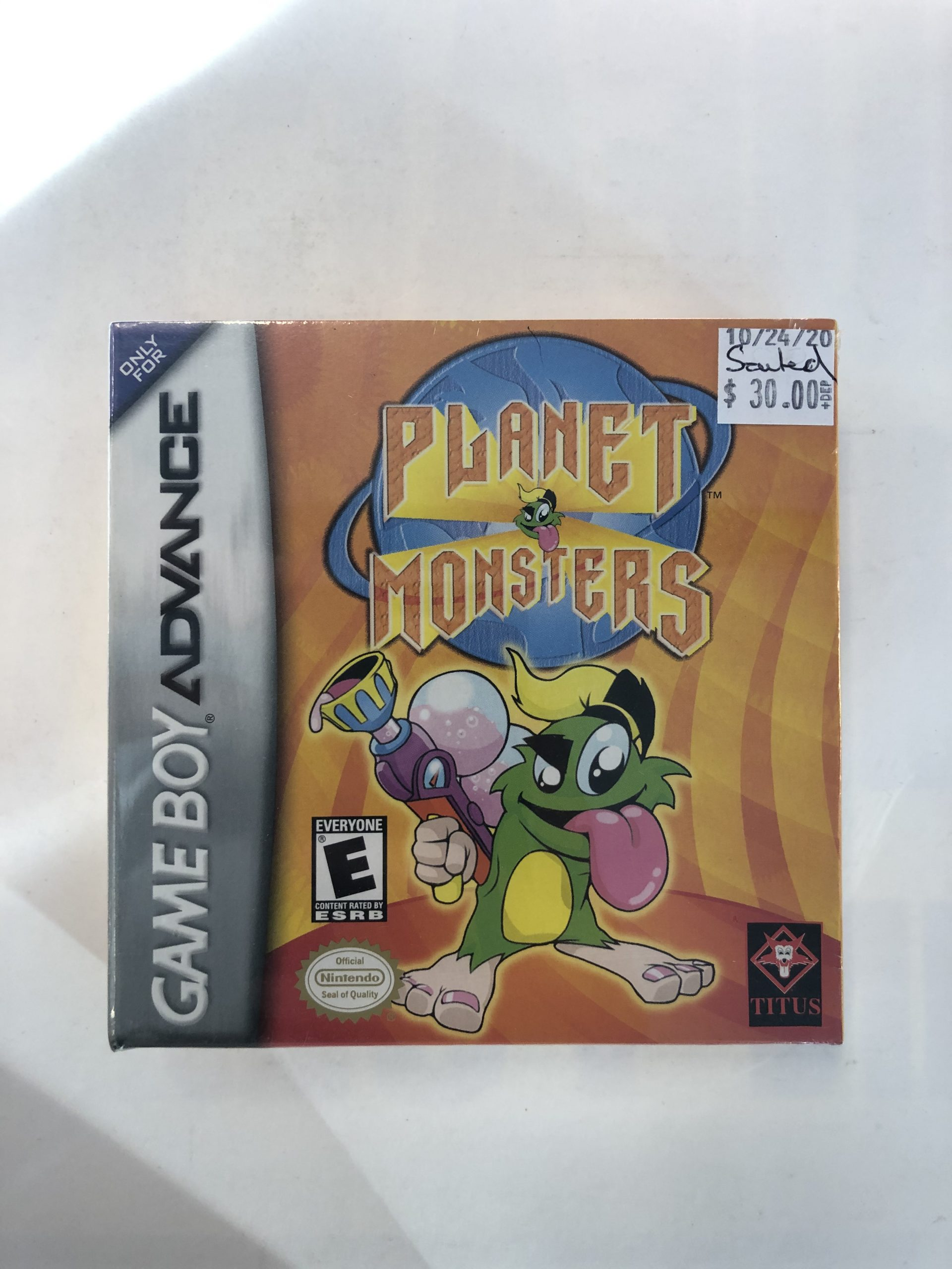 SEALED Planet Monsters GBA