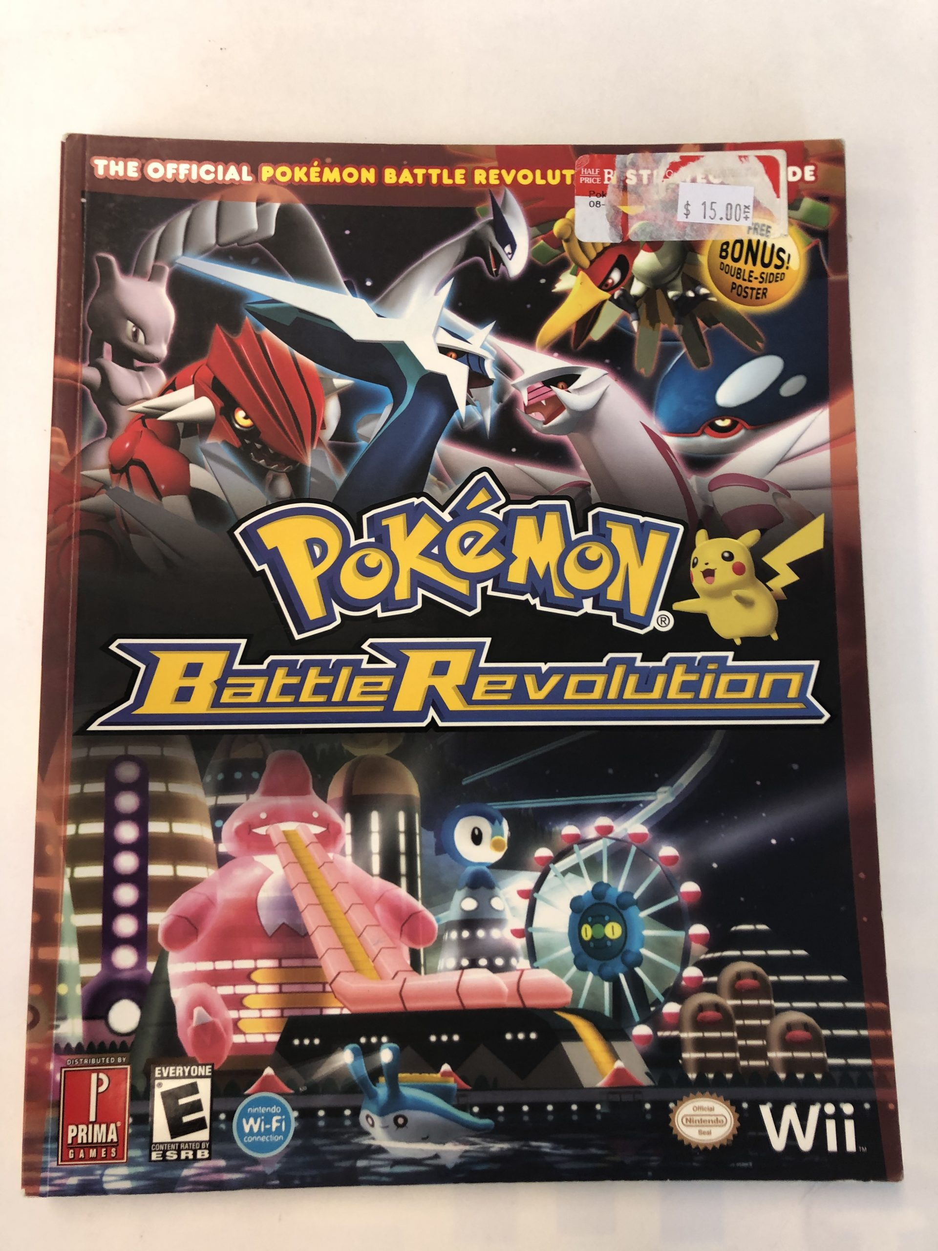 Pokemon Battle Revolution Guide Book