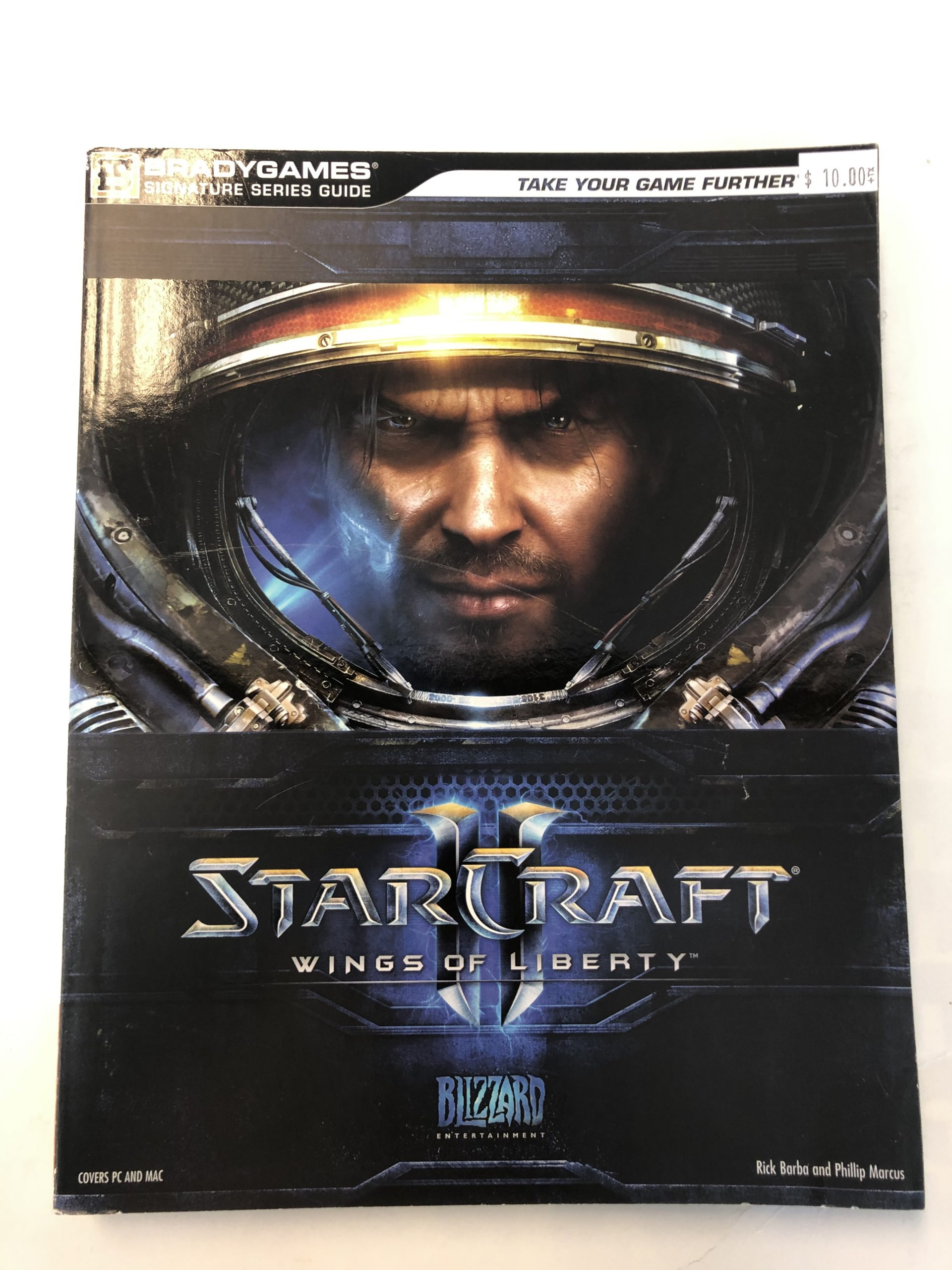 Starcfraft 2 Wings Of Liberty Guide Book