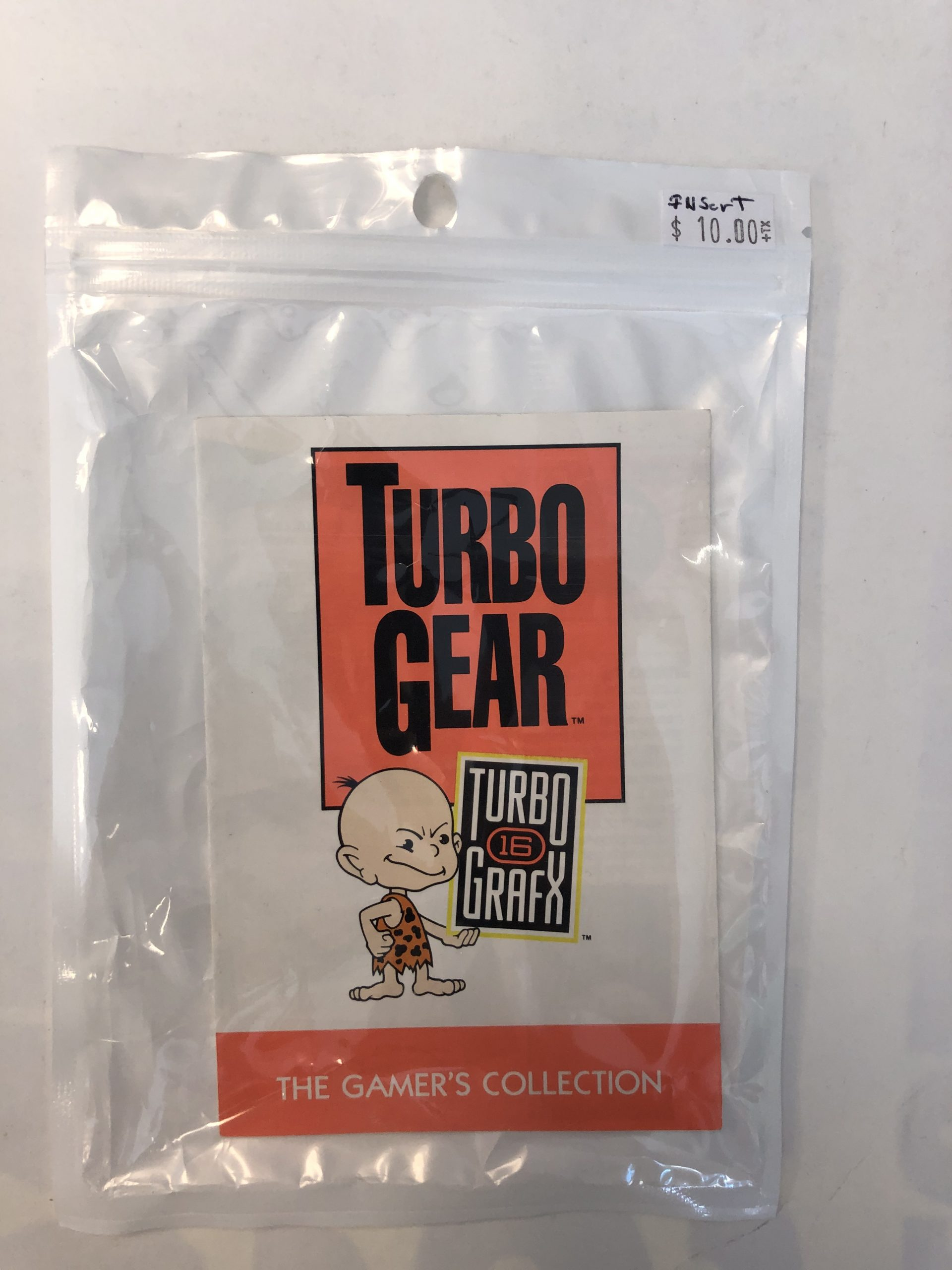 Turbo Grafx Gamer's Collection Manual