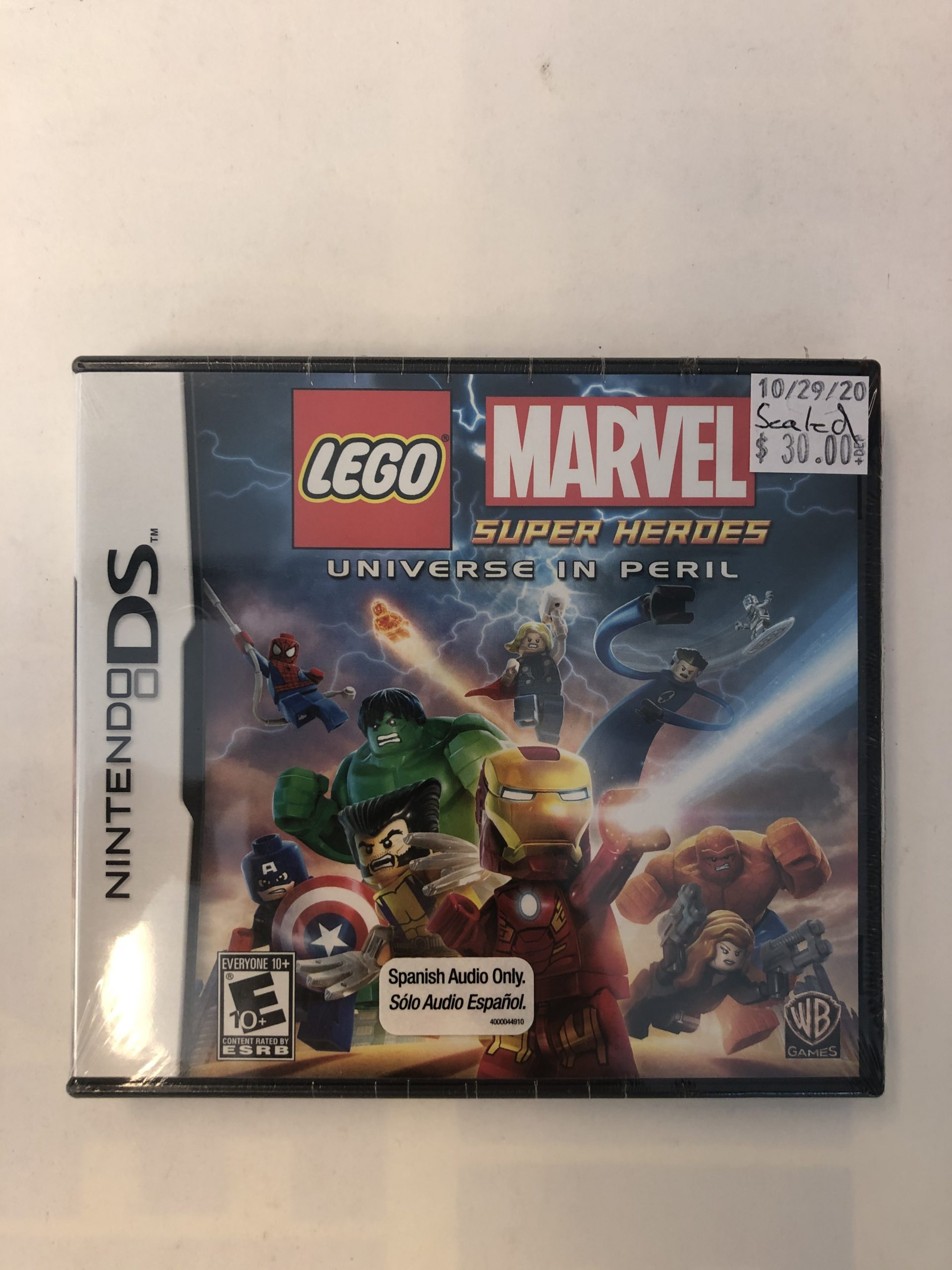 SEALED LEGO Marvel Super Heroes Universe In Peril DS