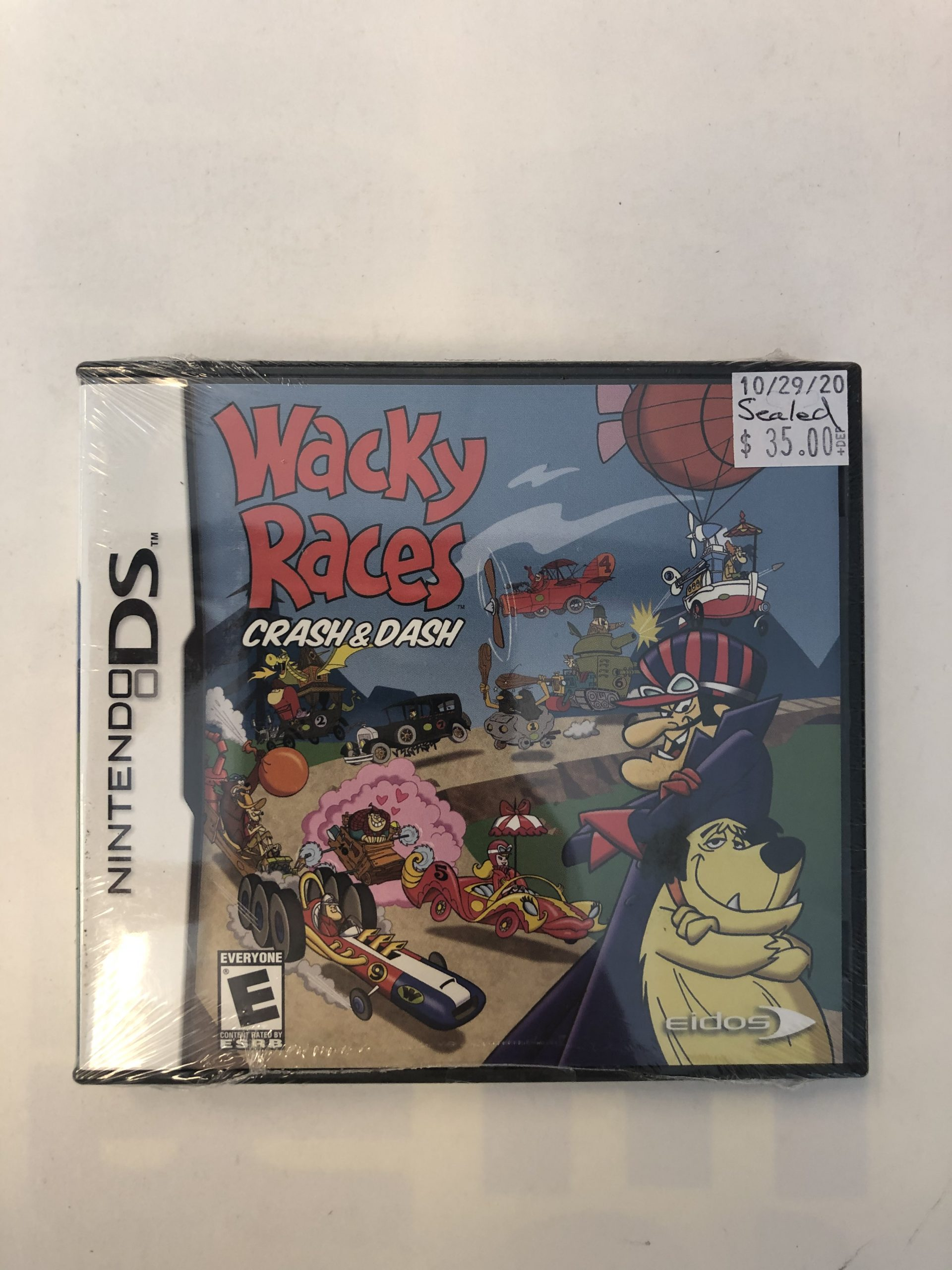 SEALED Wacky Races Crash And Dash DS