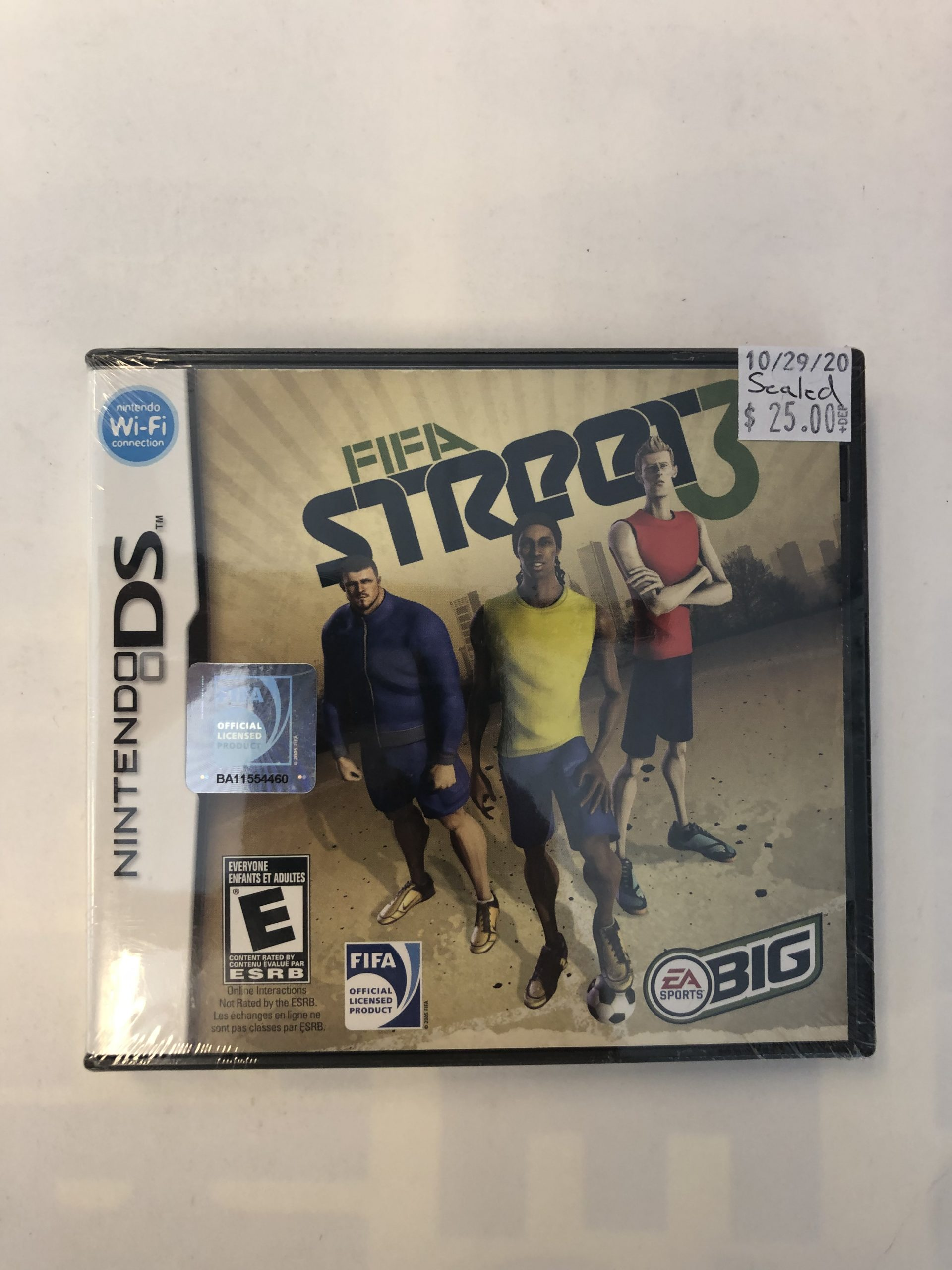 SEALED Fifa Street 3 DS