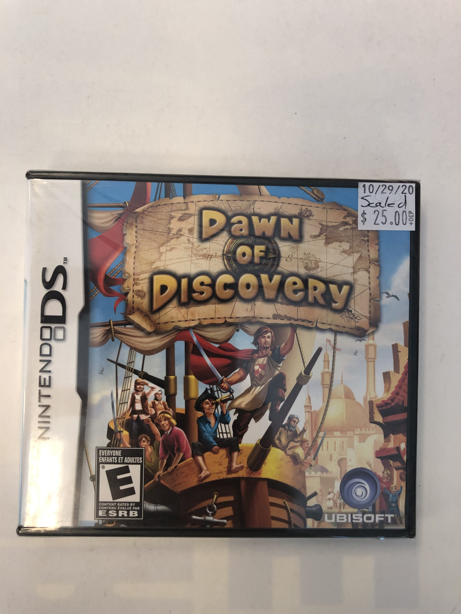 SEALED Dawn Of Discovery DS