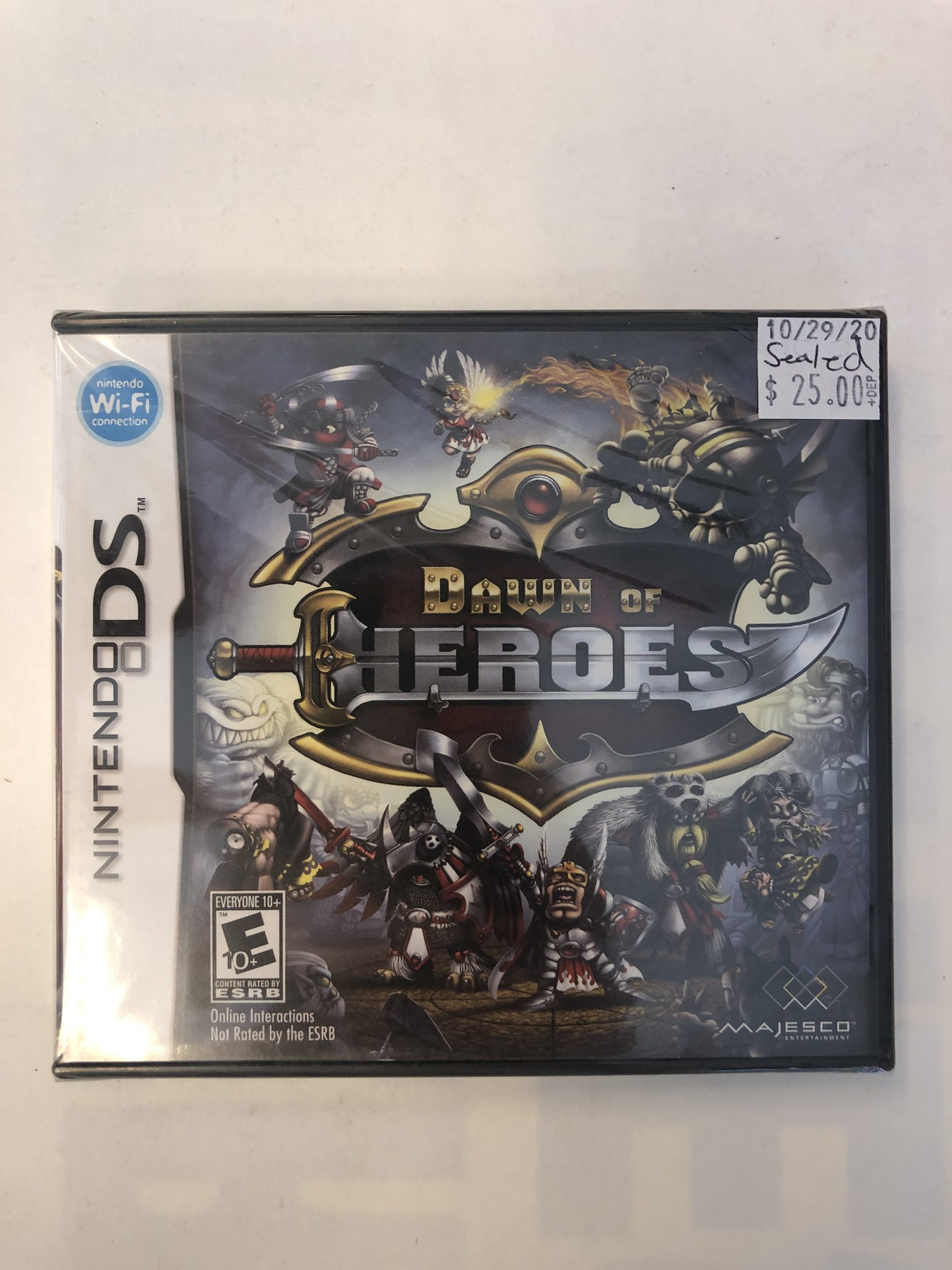 SEALED Dawn Of Heroes DS