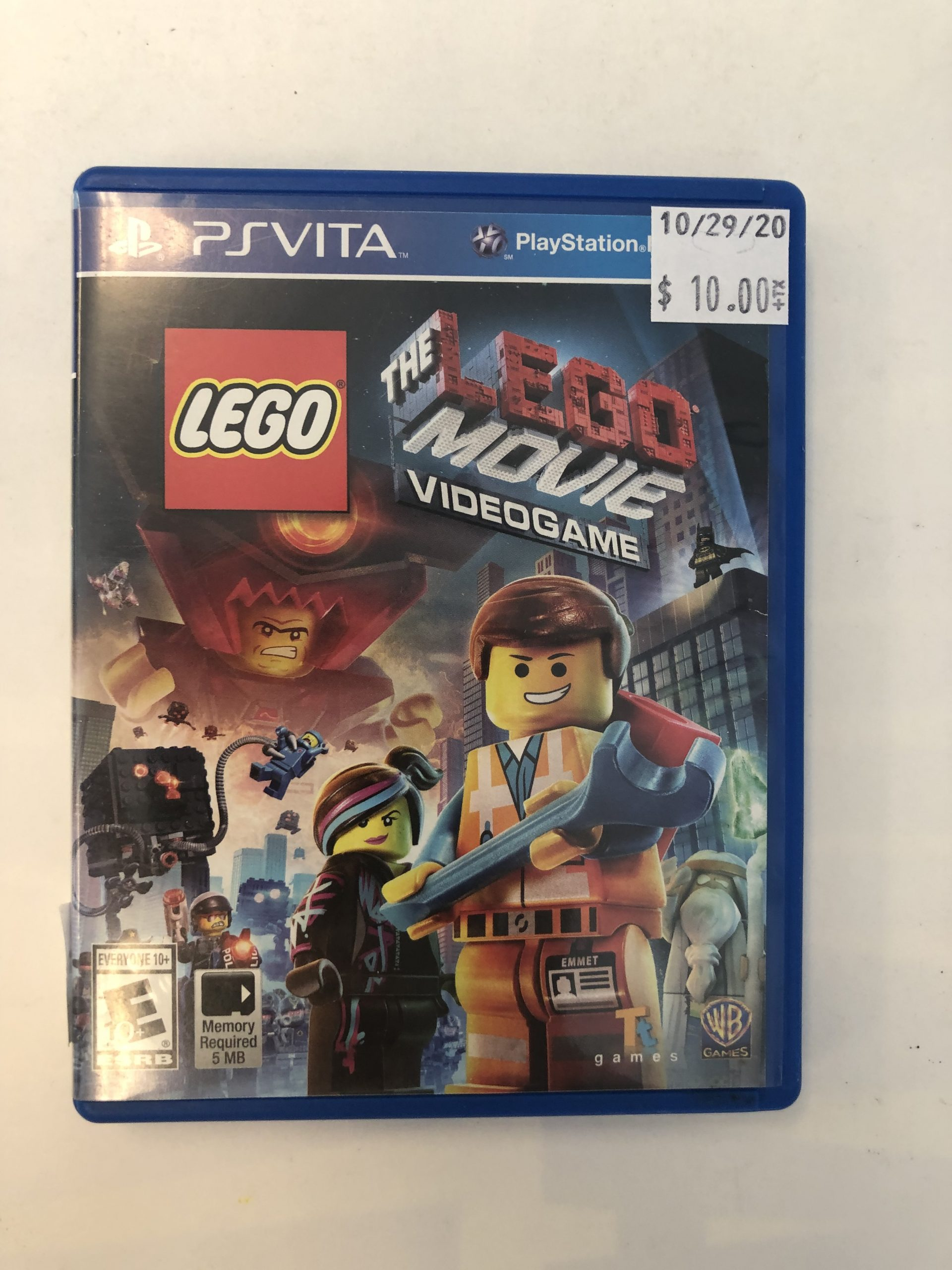 The Lego Videogame CIB PS Vita