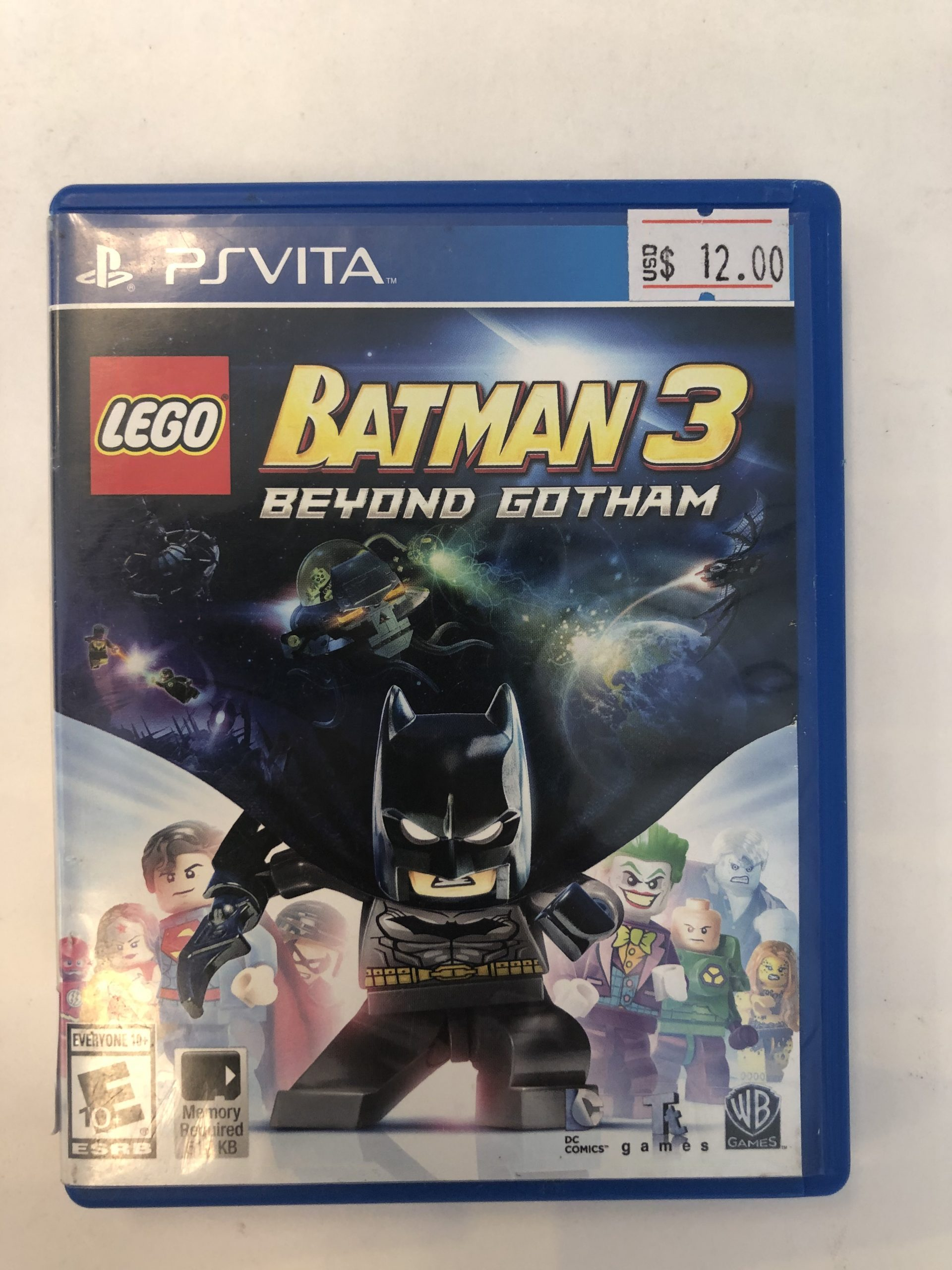 Lego Batman 3 Beyond Gotham CIB PS Vita