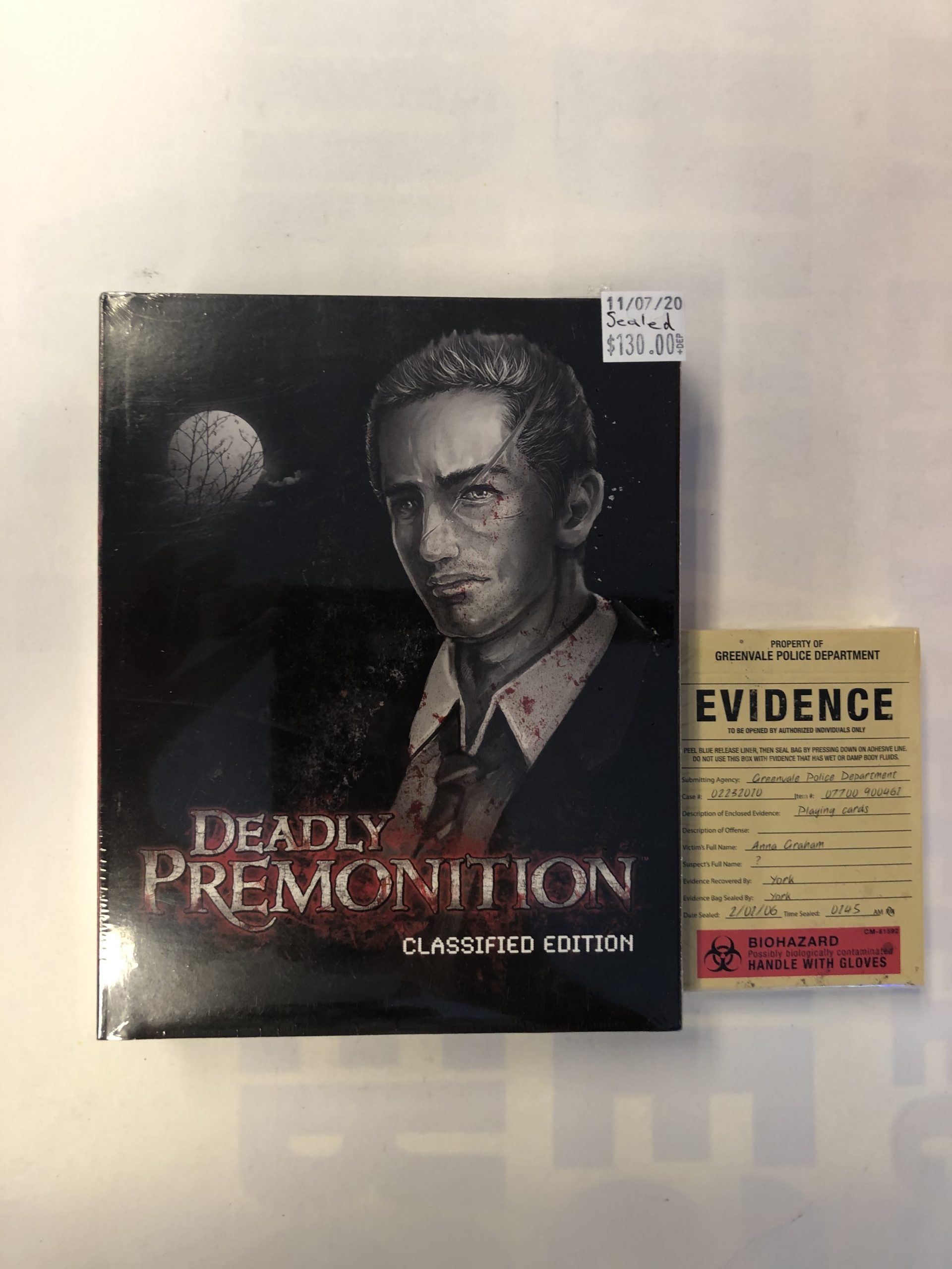 SEALED Deadly Premonition Classified Edition With Card PS3