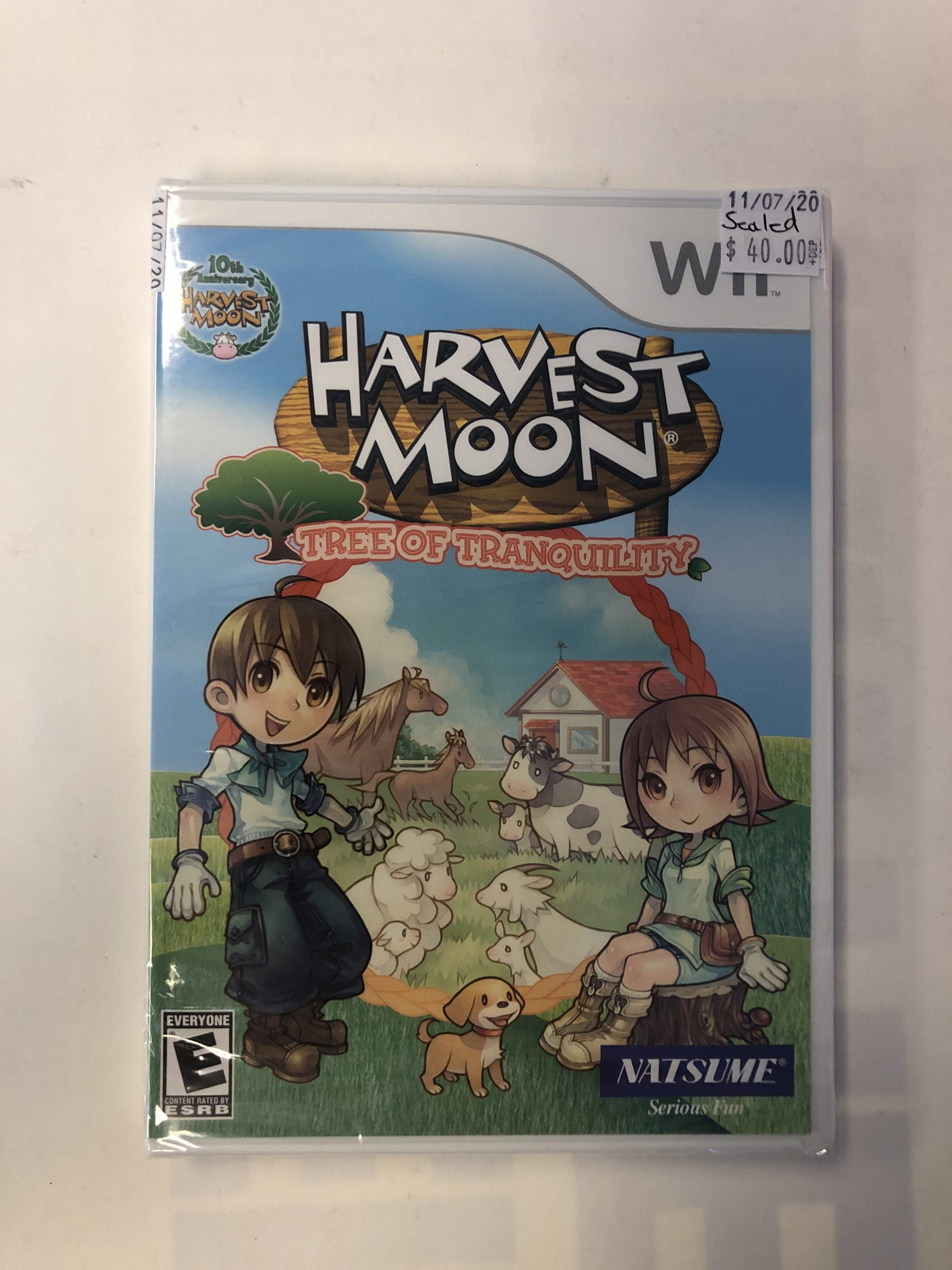 SEALED Harvest Moon Tree Of Tranquility Wii
