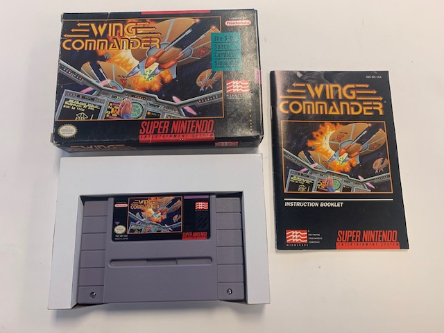 Wing Commander Snes CIB