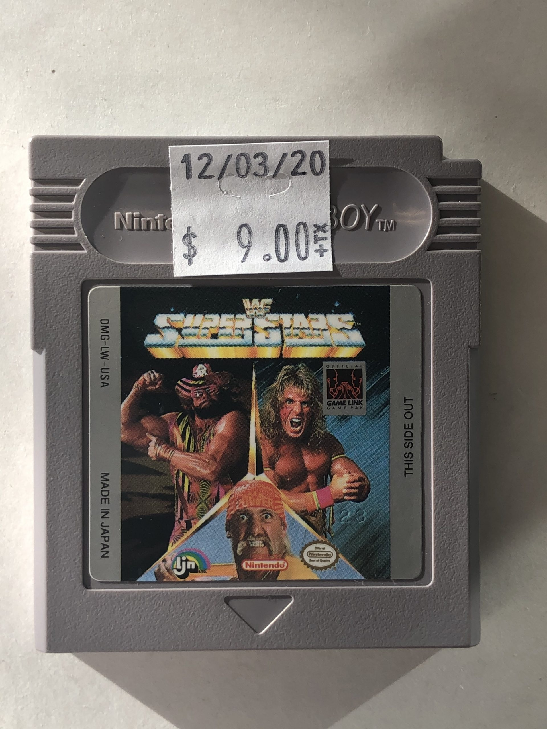 WWF Super Stars Cartridge Gameboy
