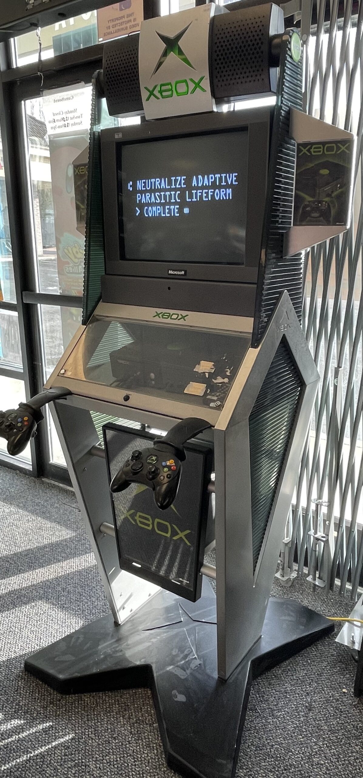 Original Xbox Kiosk – Demo Station