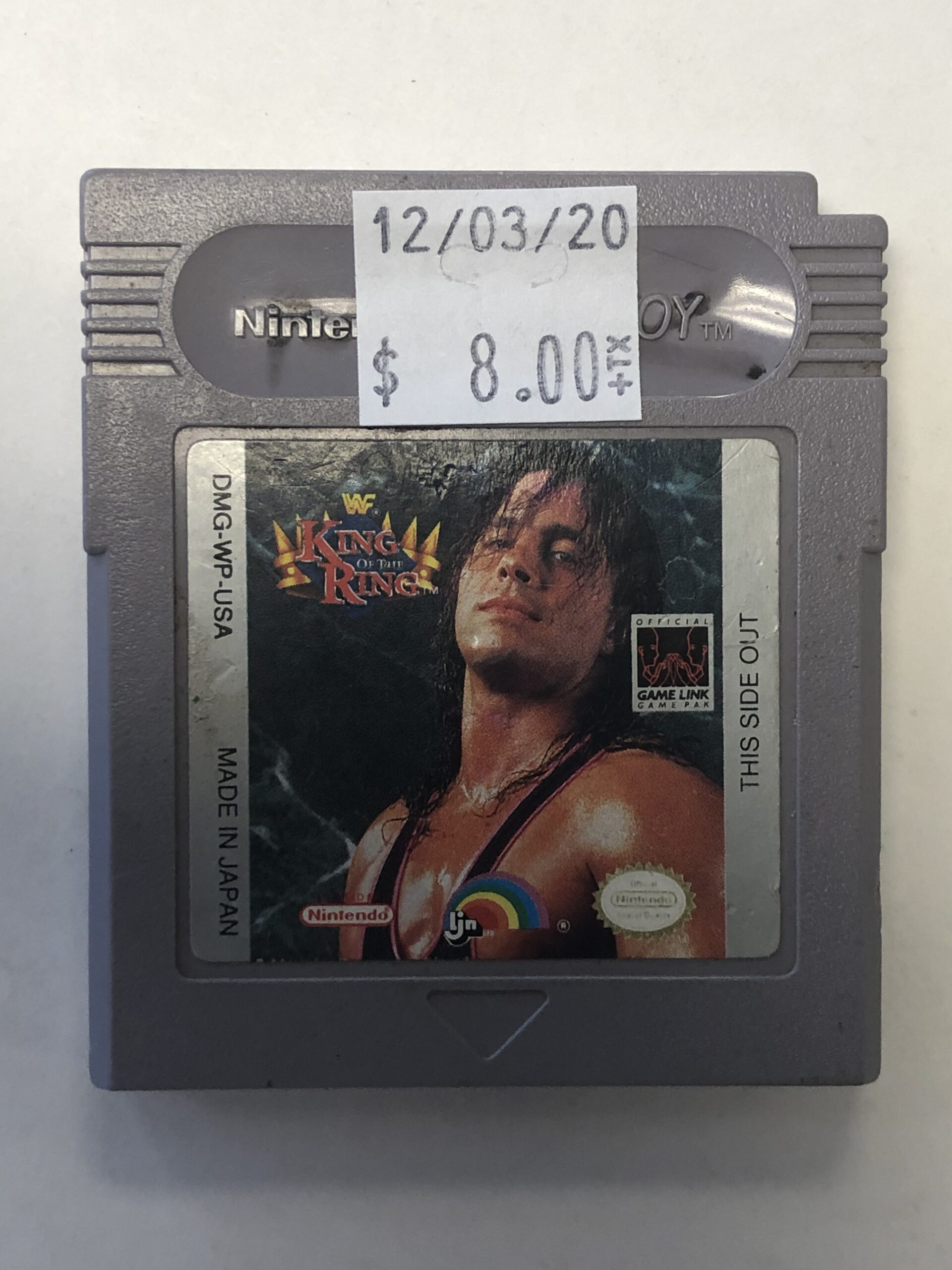 WWF King Of The Ring Cartridge Gameboy